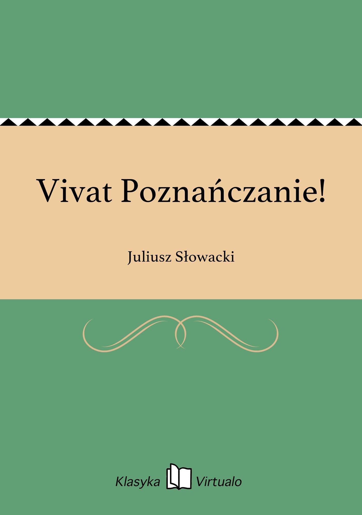 Vivat Poznańczanie! - Ebook (Książka EPUB) do pobrania w formacie EPUB