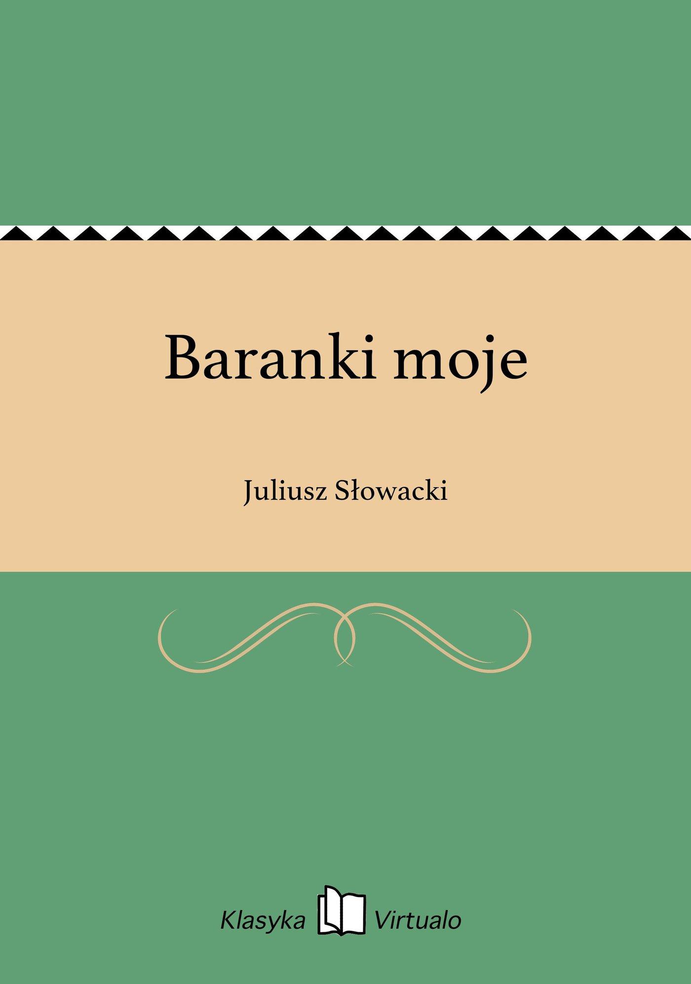 Baranki moje - Ebook (Książka EPUB) do pobrania w formacie EPUB