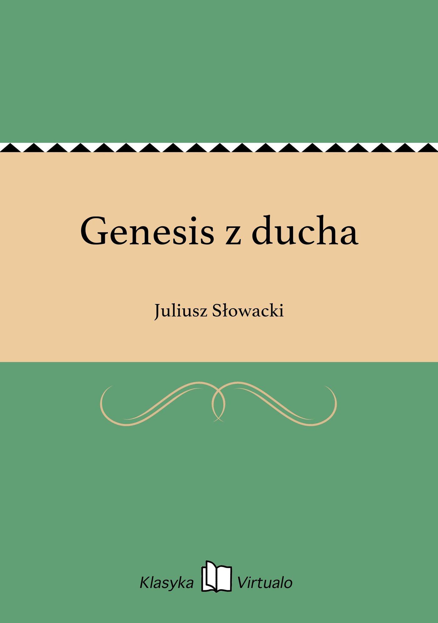 Genesis z ducha - Ebook (Książka EPUB) do pobrania w formacie EPUB
