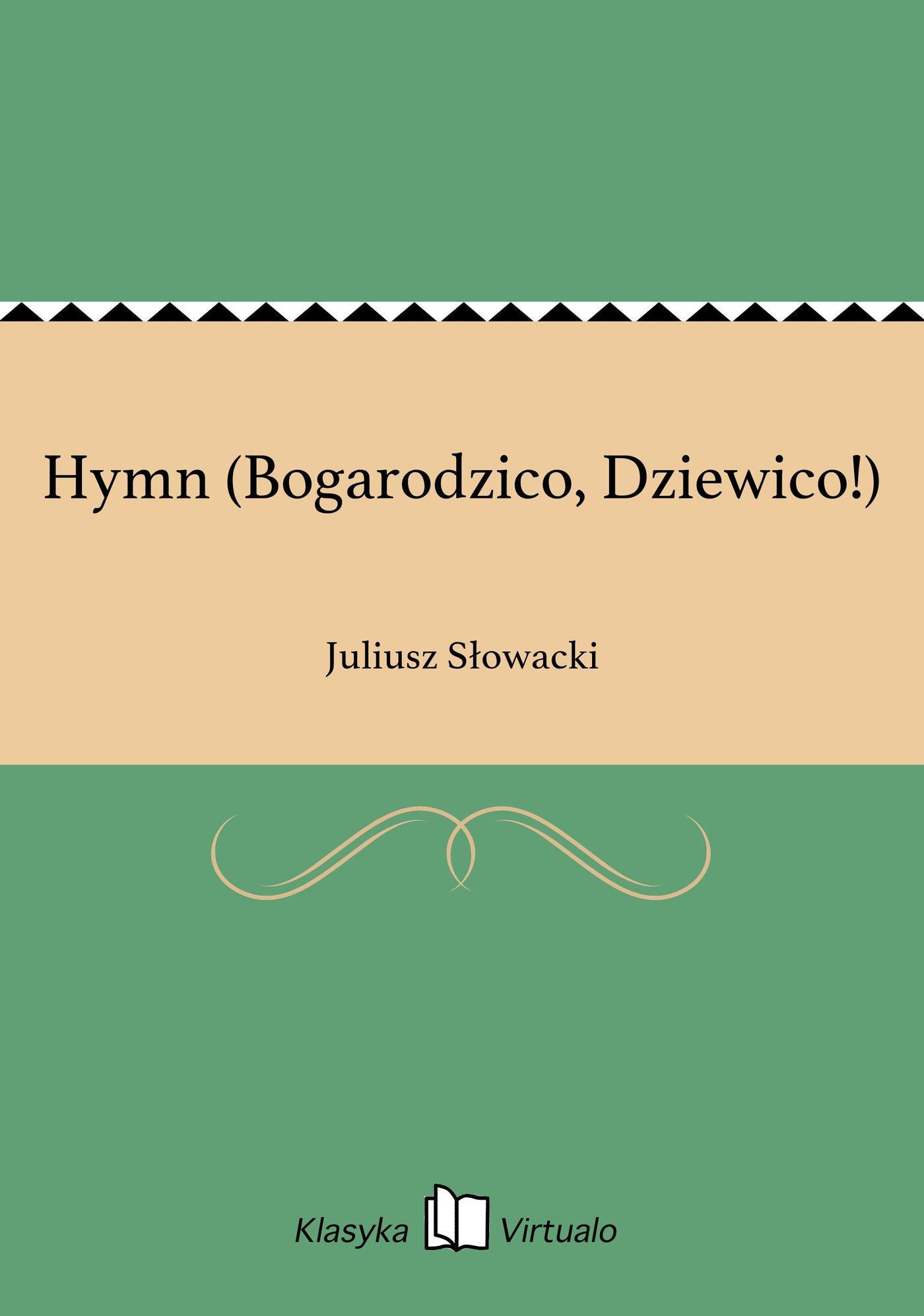 Hymn (Bogarodzico, Dziewico!) - Ebook (Książka EPUB) do pobrania w formacie EPUB