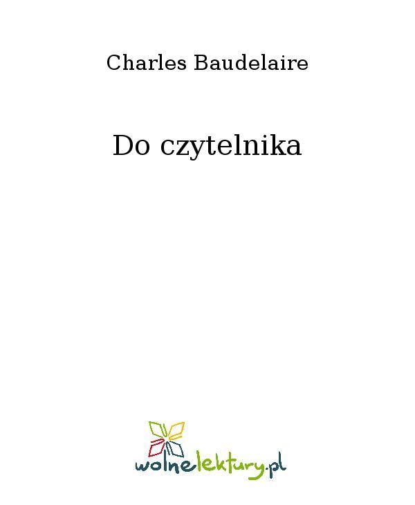 Do czytelnika - Ebook (Książka EPUB) do pobrania w formacie EPUB