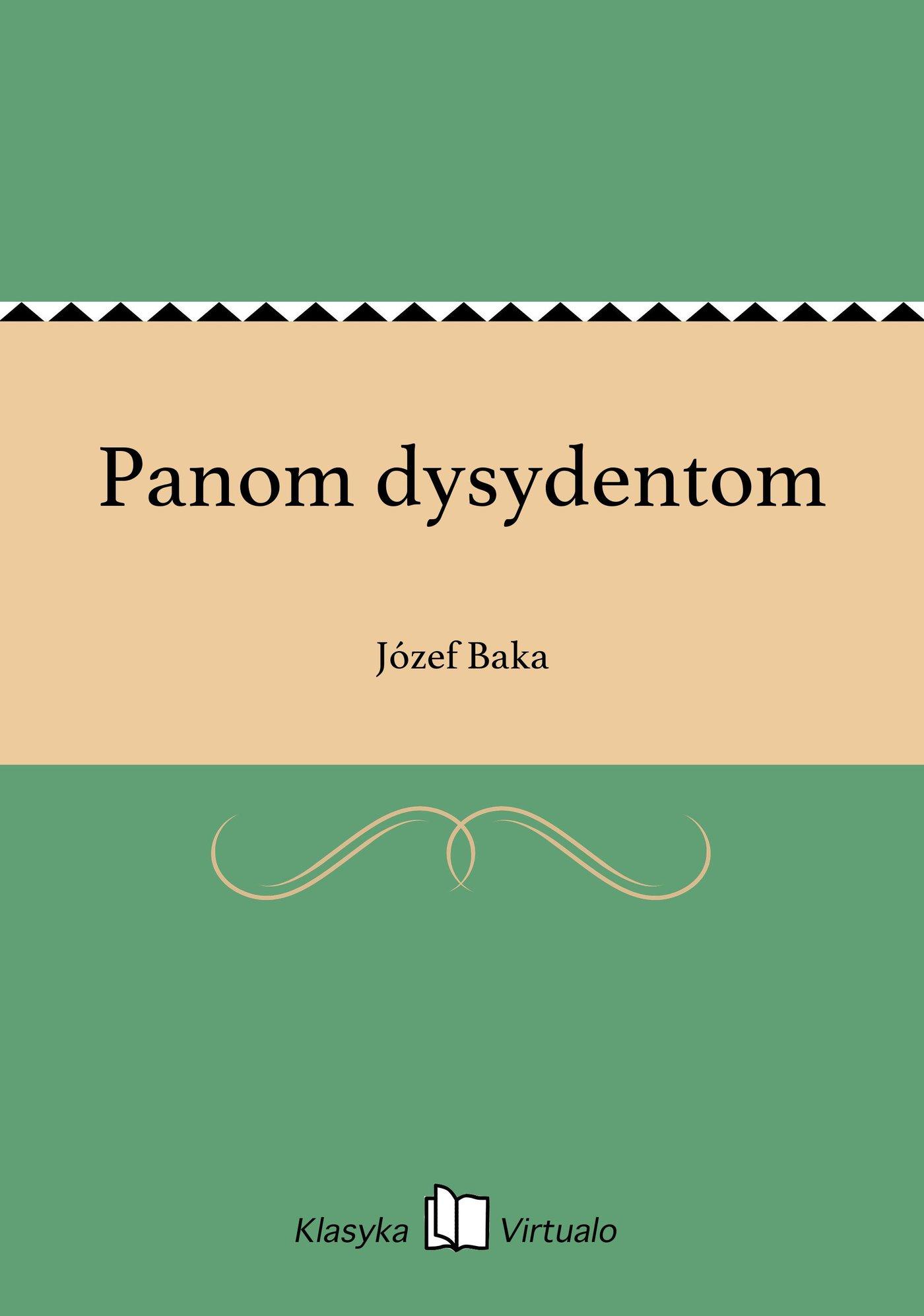 Panom dysydentom - Ebook (Książka EPUB) do pobrania w formacie EPUB