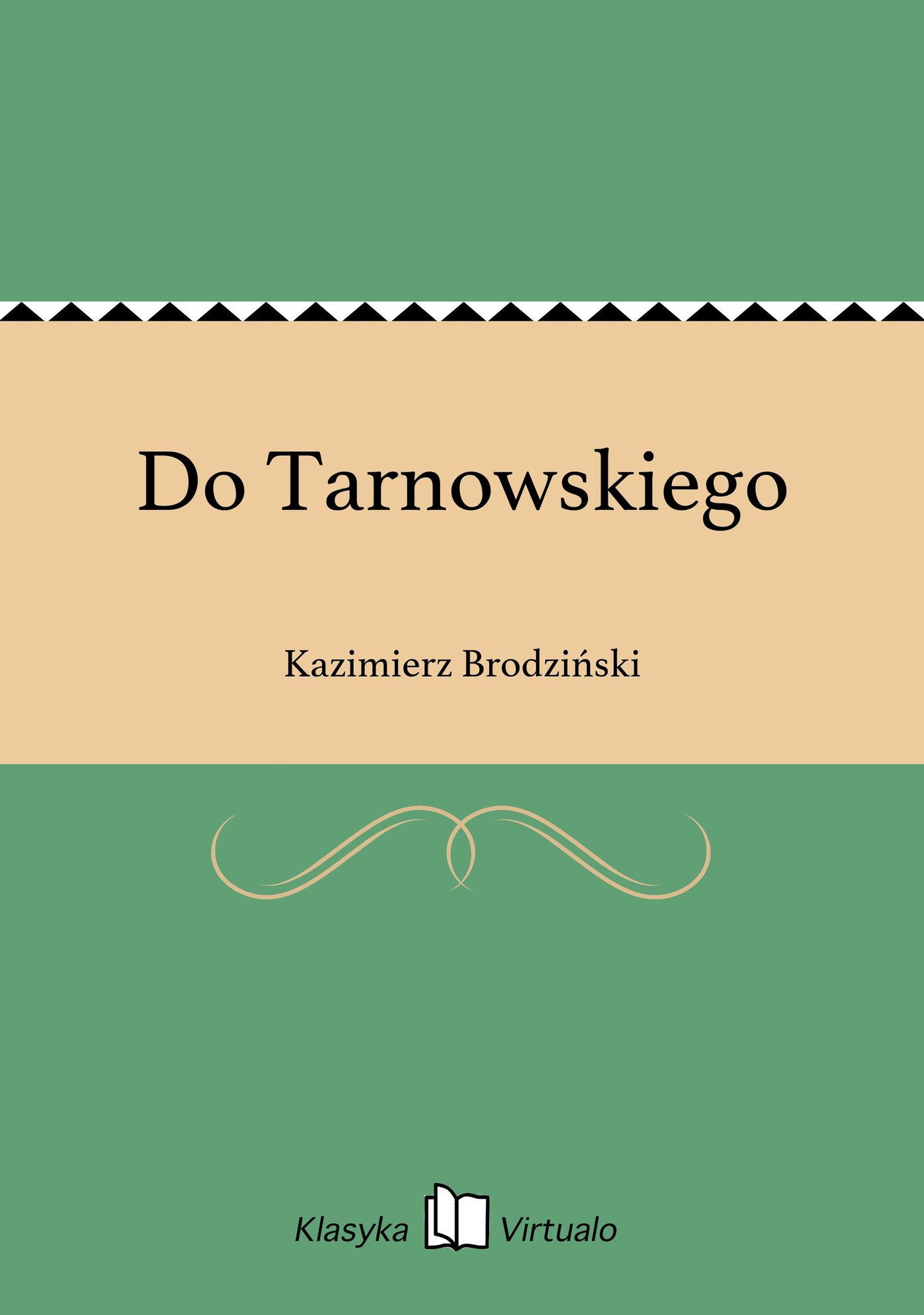 Do Tarnowskiego - Ebook (Książka EPUB) do pobrania w formacie EPUB