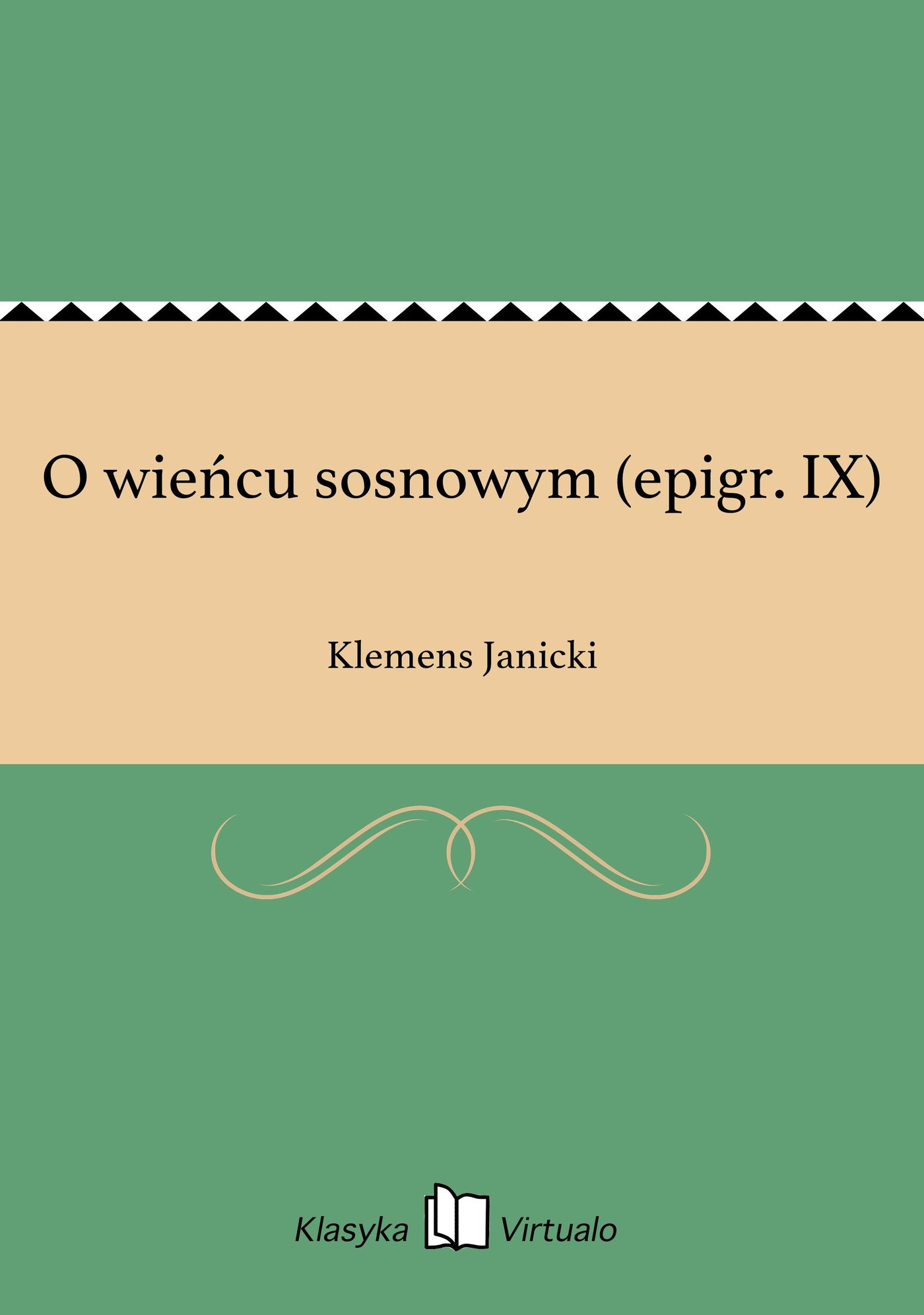 O wieńcu sosnowym (epigr. IX) - Ebook (Książka EPUB) do pobrania w formacie EPUB