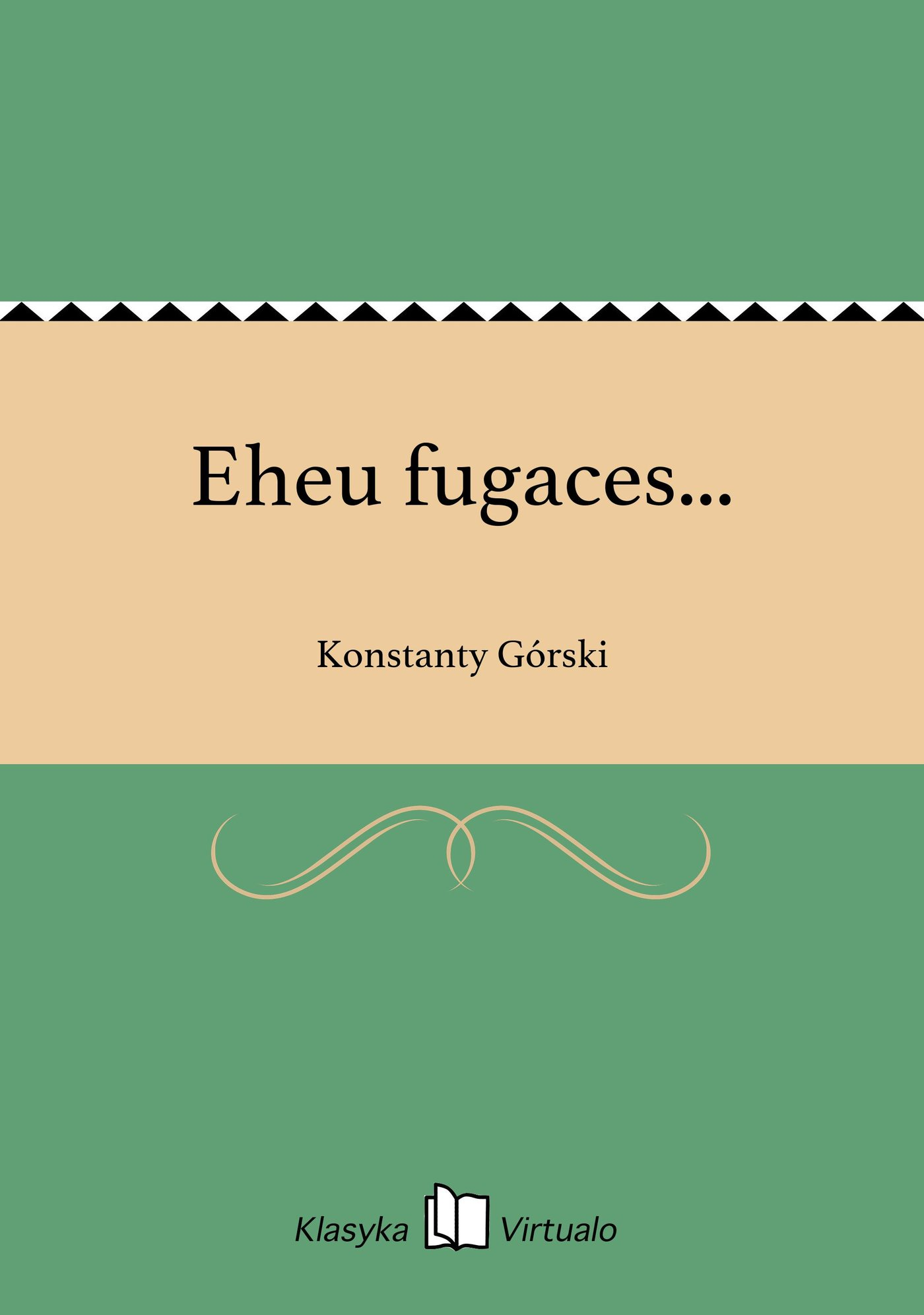 Eheu fugaces... - Ebook (Książka EPUB) do pobrania w formacie EPUB