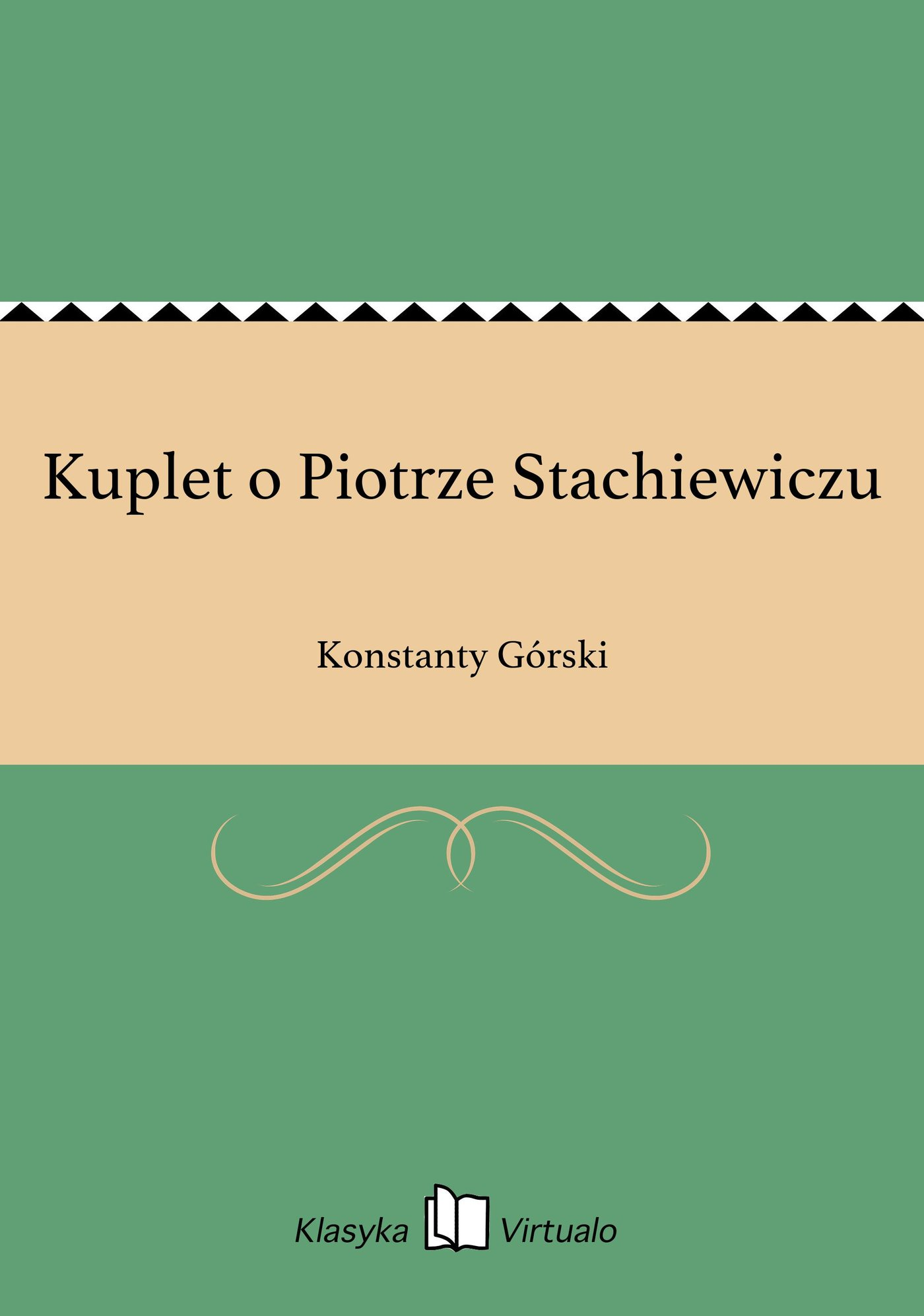 Kuplet o Piotrze Stachiewiczu - Ebook (Książka EPUB) do pobrania w formacie EPUB