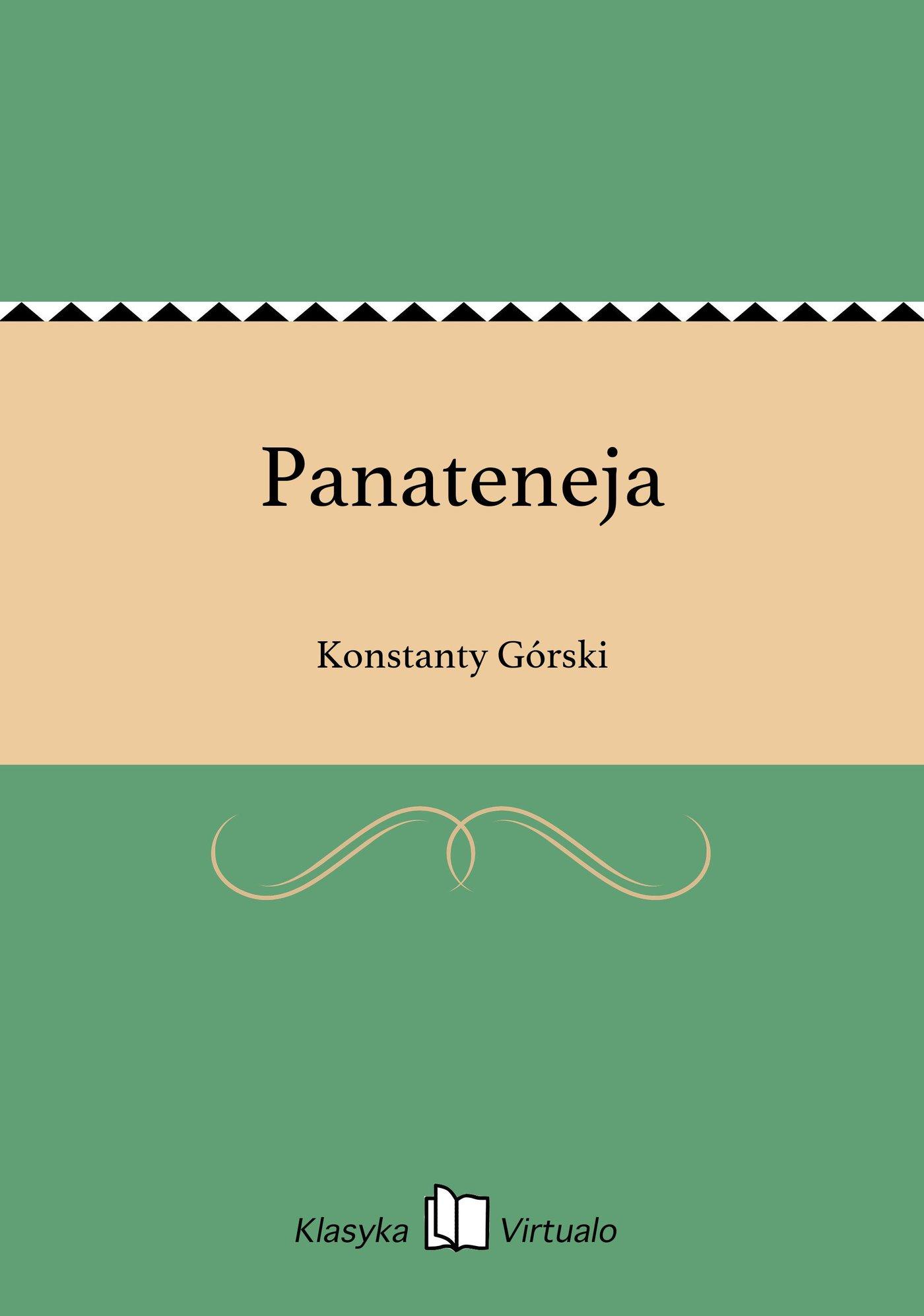 Panateneja - Ebook (Książka EPUB) do pobrania w formacie EPUB