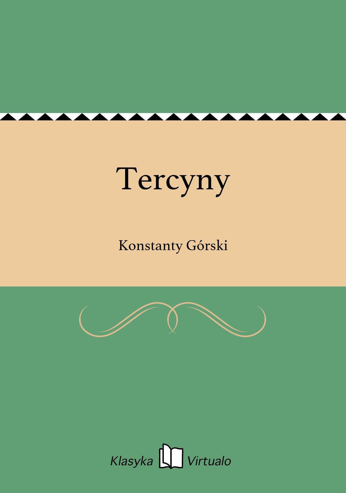 Tercyny - Ebook (Książka EPUB) do pobrania w formacie EPUB