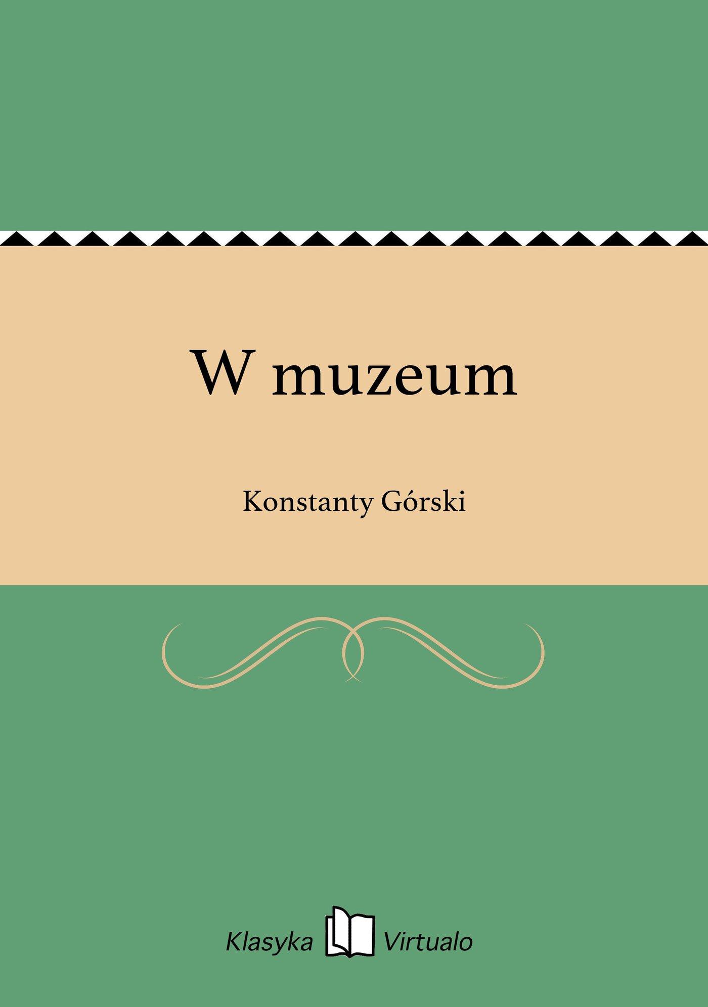 W muzeum - Ebook (Książka EPUB) do pobrania w formacie EPUB