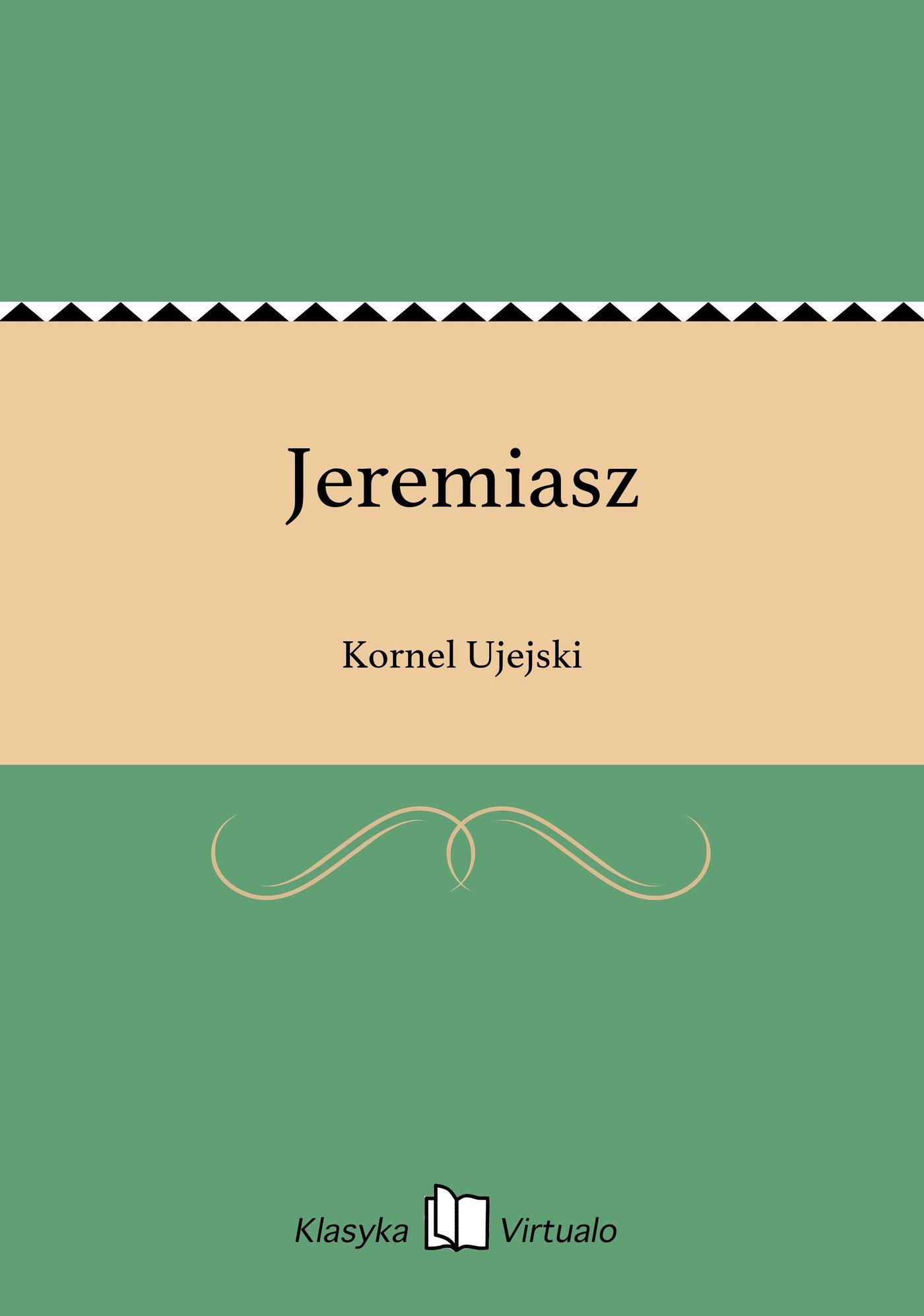 Jeremiasz - Ebook (Książka EPUB) do pobrania w formacie EPUB