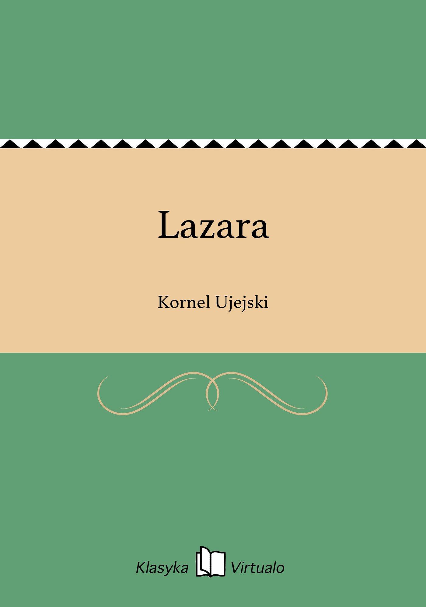 Lazara - Ebook (Książka EPUB) do pobrania w formacie EPUB
