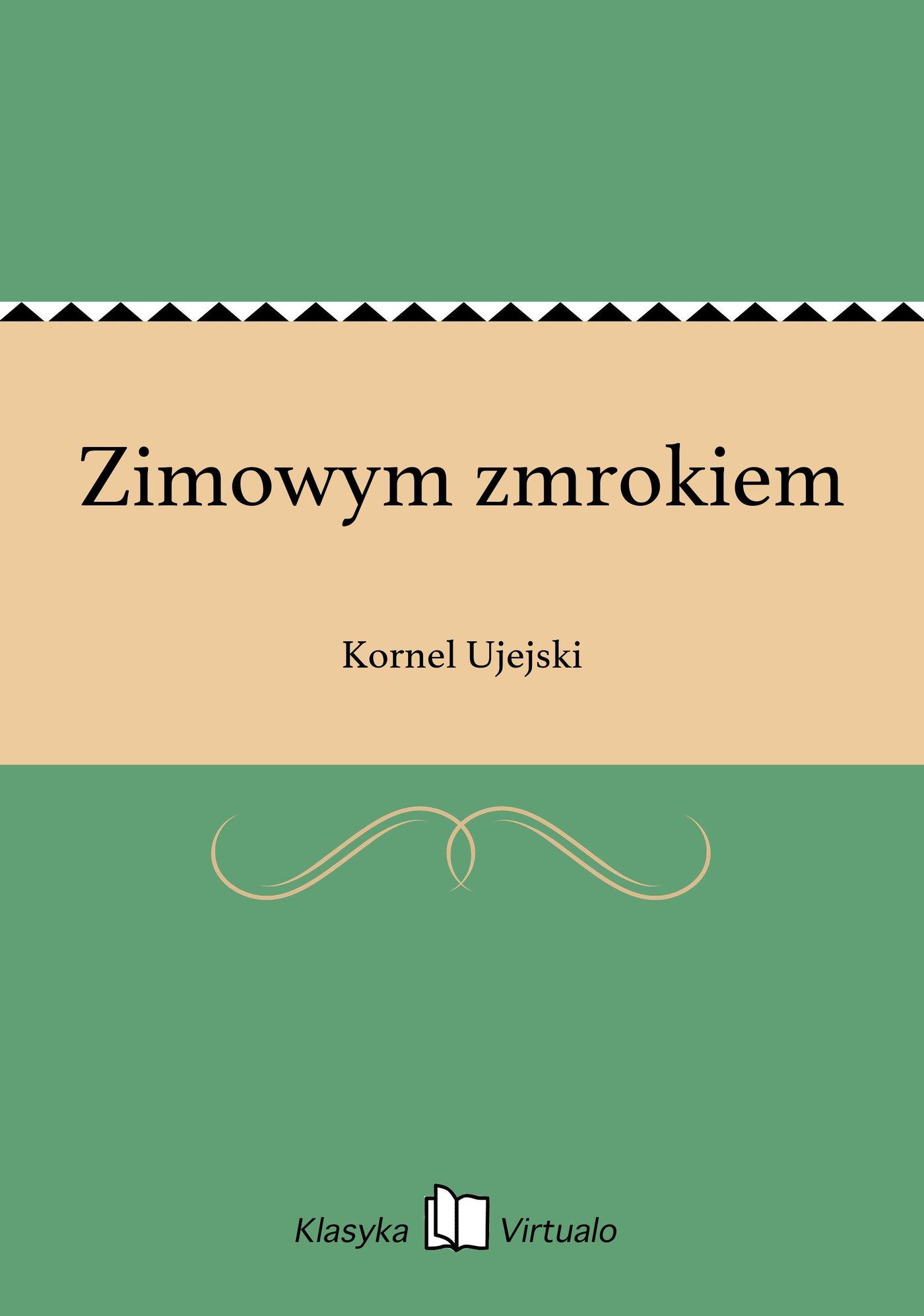 Zimowym zmrokiem - Ebook (Książka EPUB) do pobrania w formacie EPUB