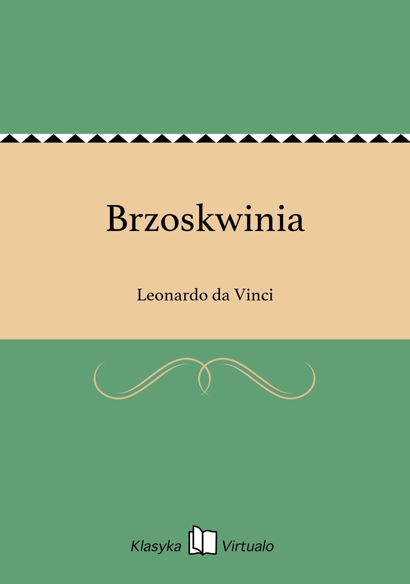 Brzoskwinia - Ebook (Książka EPUB) do pobrania w formacie EPUB