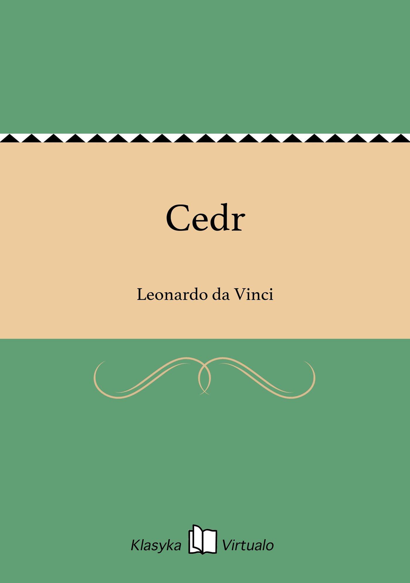 Cedr - Ebook (Książka EPUB) do pobrania w formacie EPUB