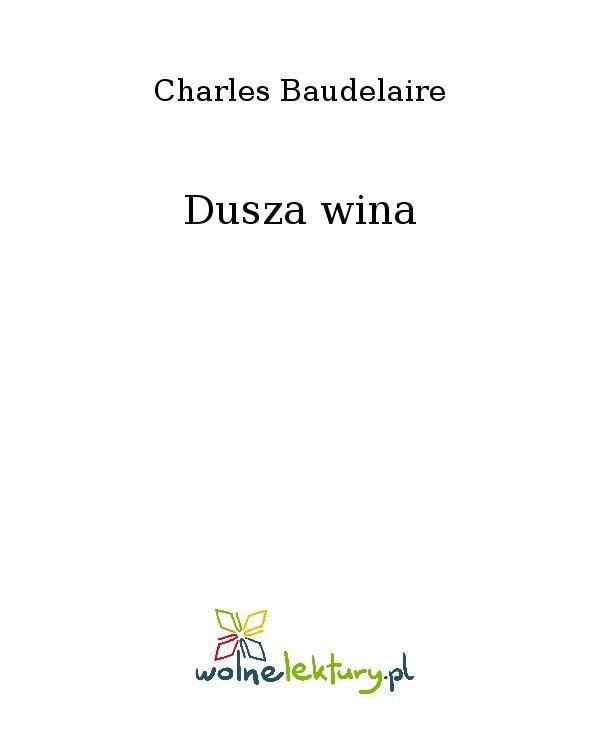 Dusza wina - Ebook (Książka EPUB) do pobrania w formacie EPUB