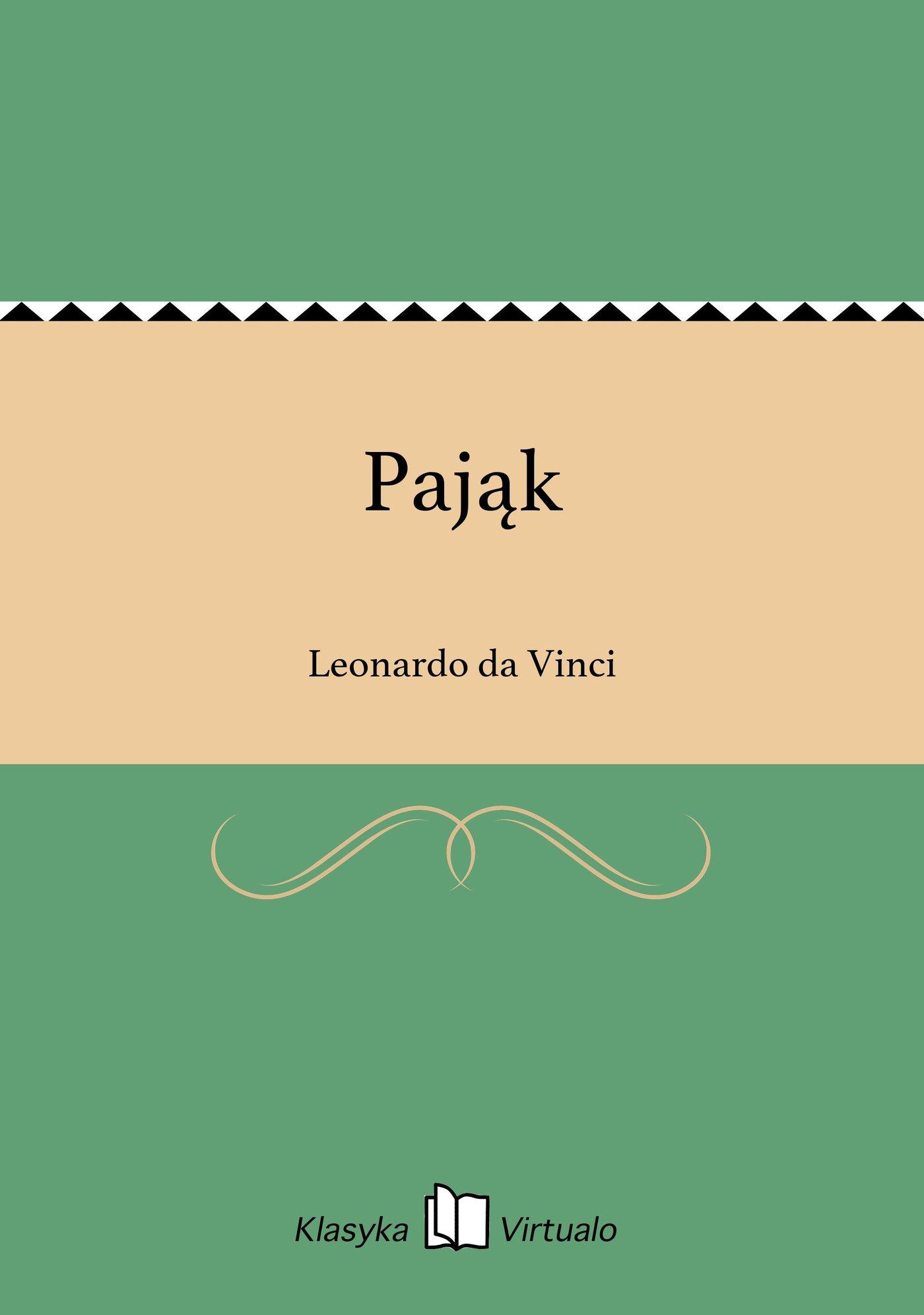 Pająk - Ebook (Książka EPUB) do pobrania w formacie EPUB