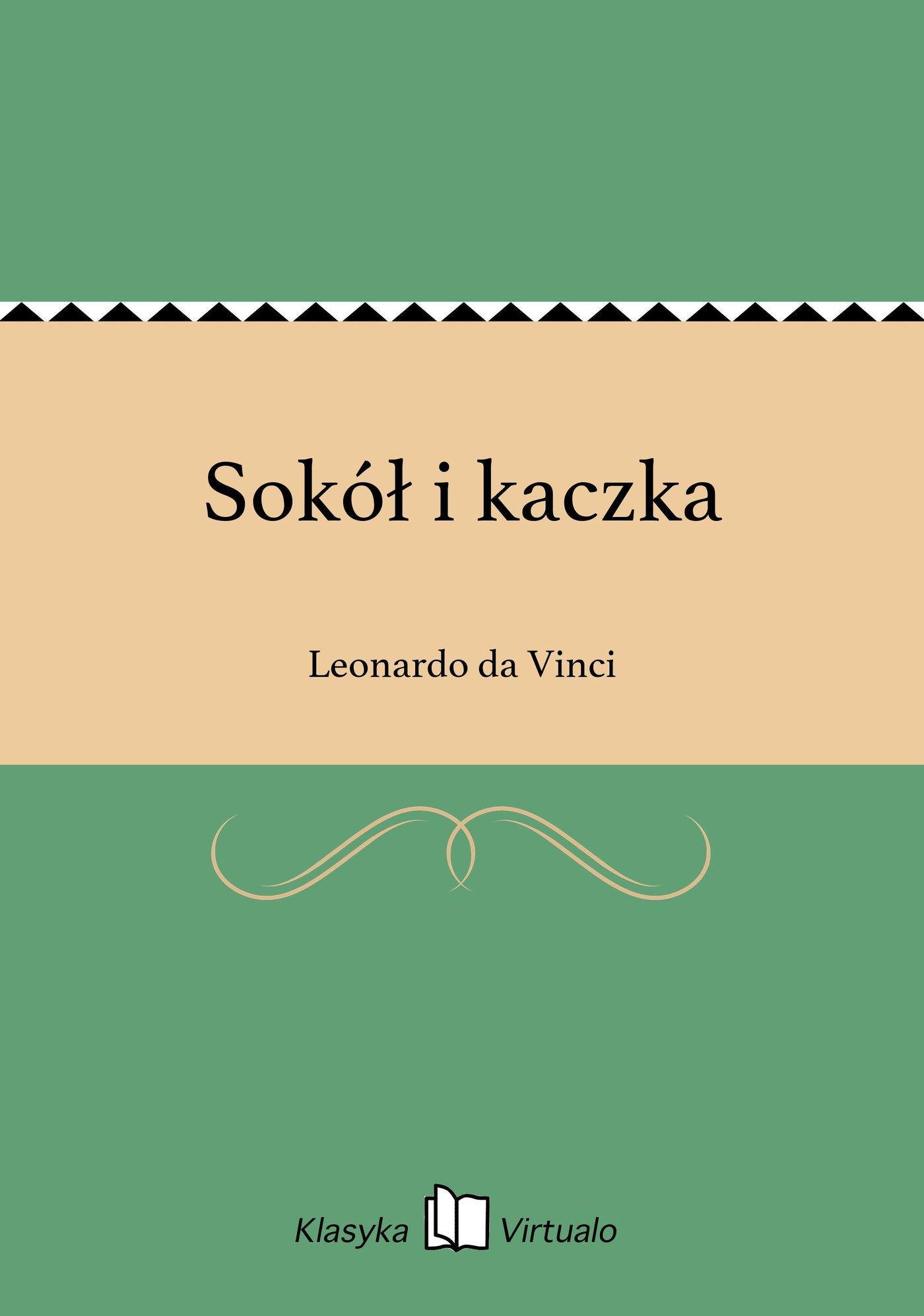 Sokół i kaczka - Ebook (Książka EPUB) do pobrania w formacie EPUB