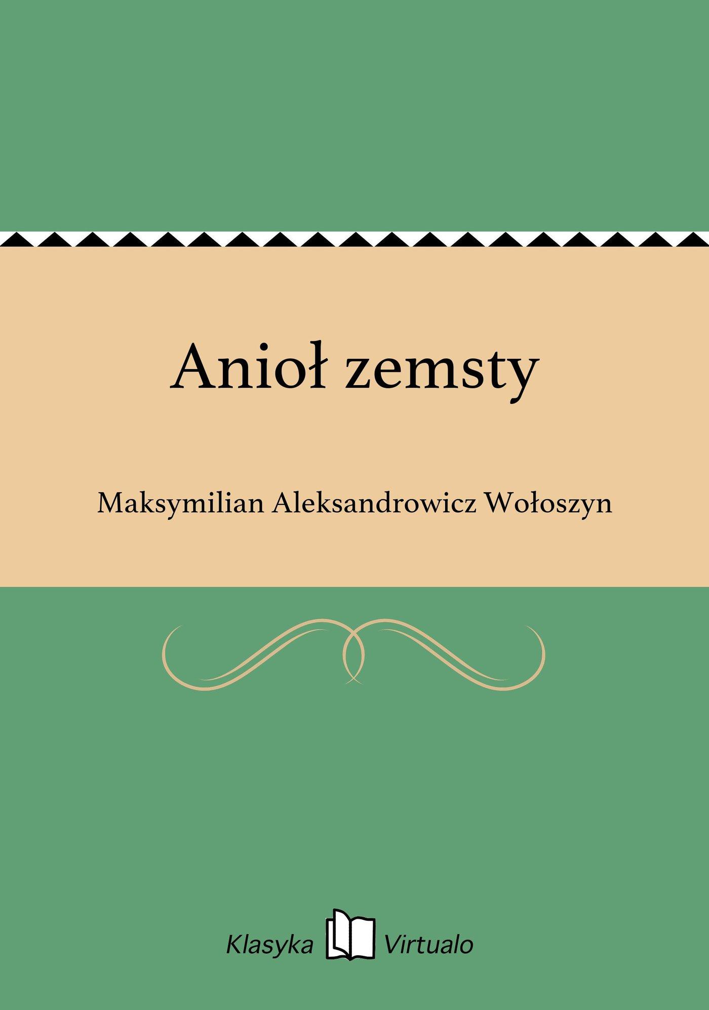 Anioł zemsty - Ebook (Książka EPUB) do pobrania w formacie EPUB