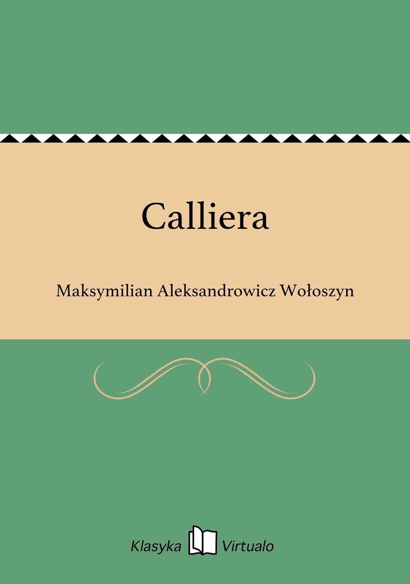 Calliera - Ebook (Książka EPUB) do pobrania w formacie EPUB
