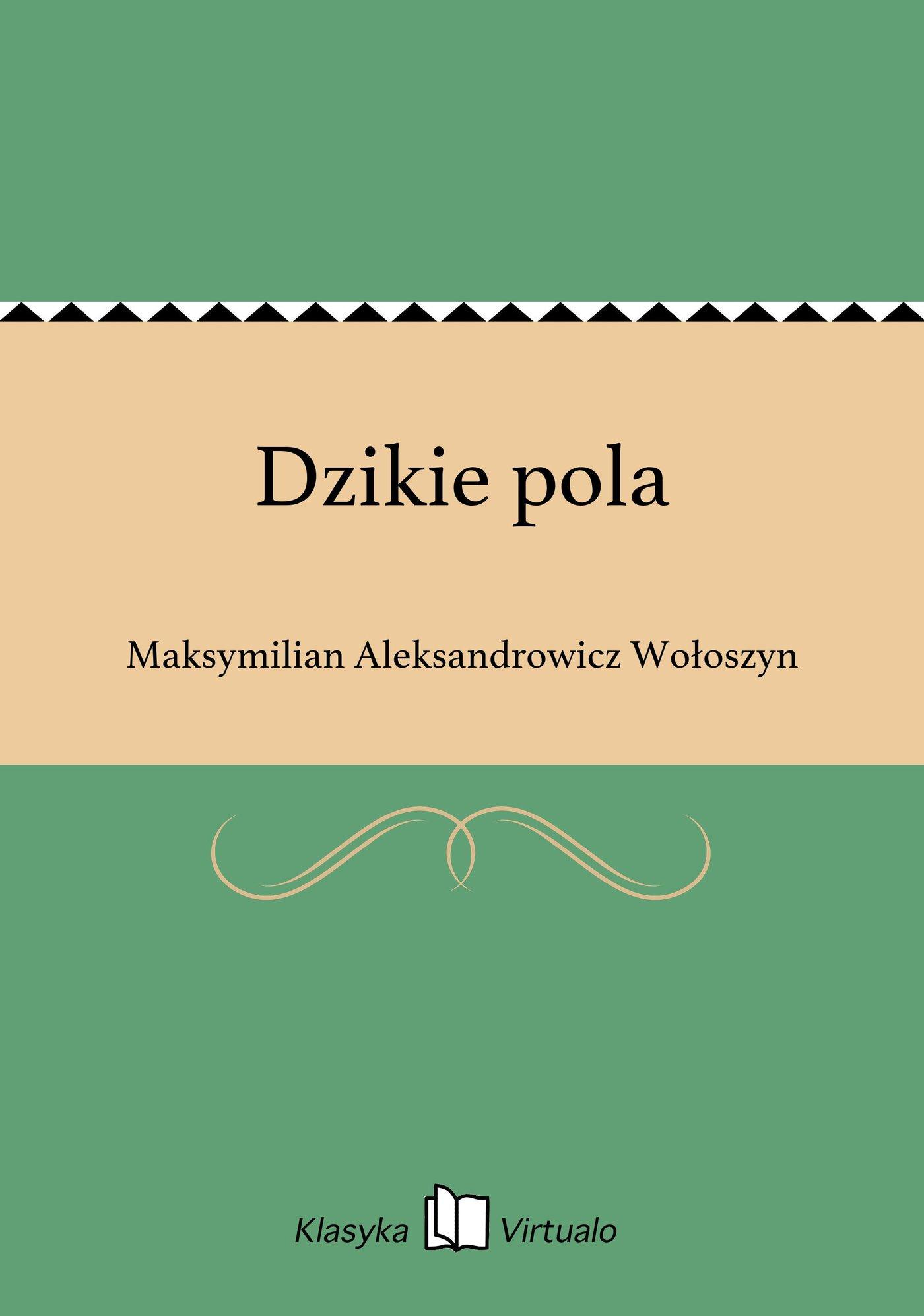 Dzikie pola - Ebook (Książka EPUB) do pobrania w formacie EPUB
