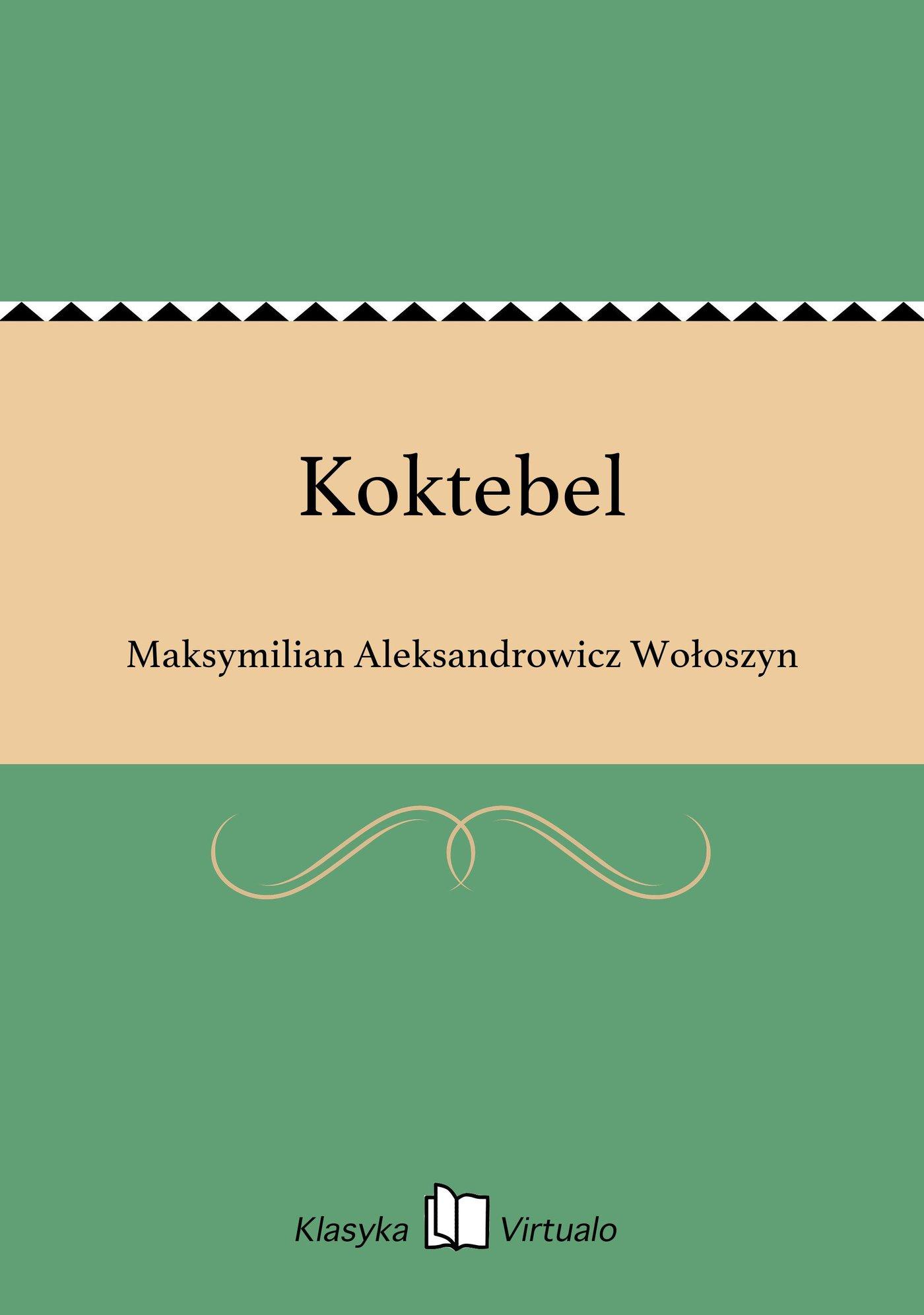 Koktebel - Ebook (Książka EPUB) do pobrania w formacie EPUB