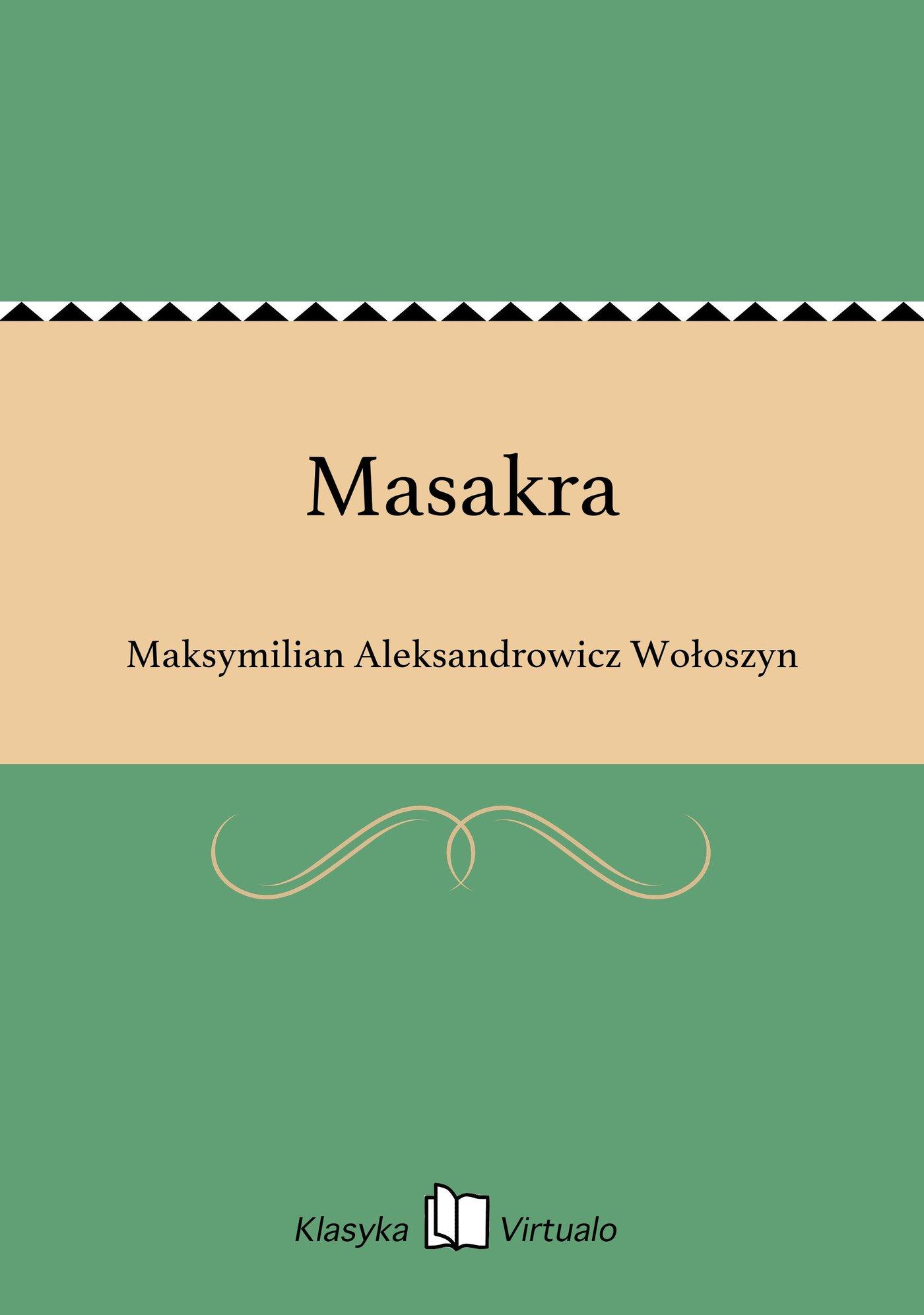 Masakra - Ebook (Książka EPUB) do pobrania w formacie EPUB