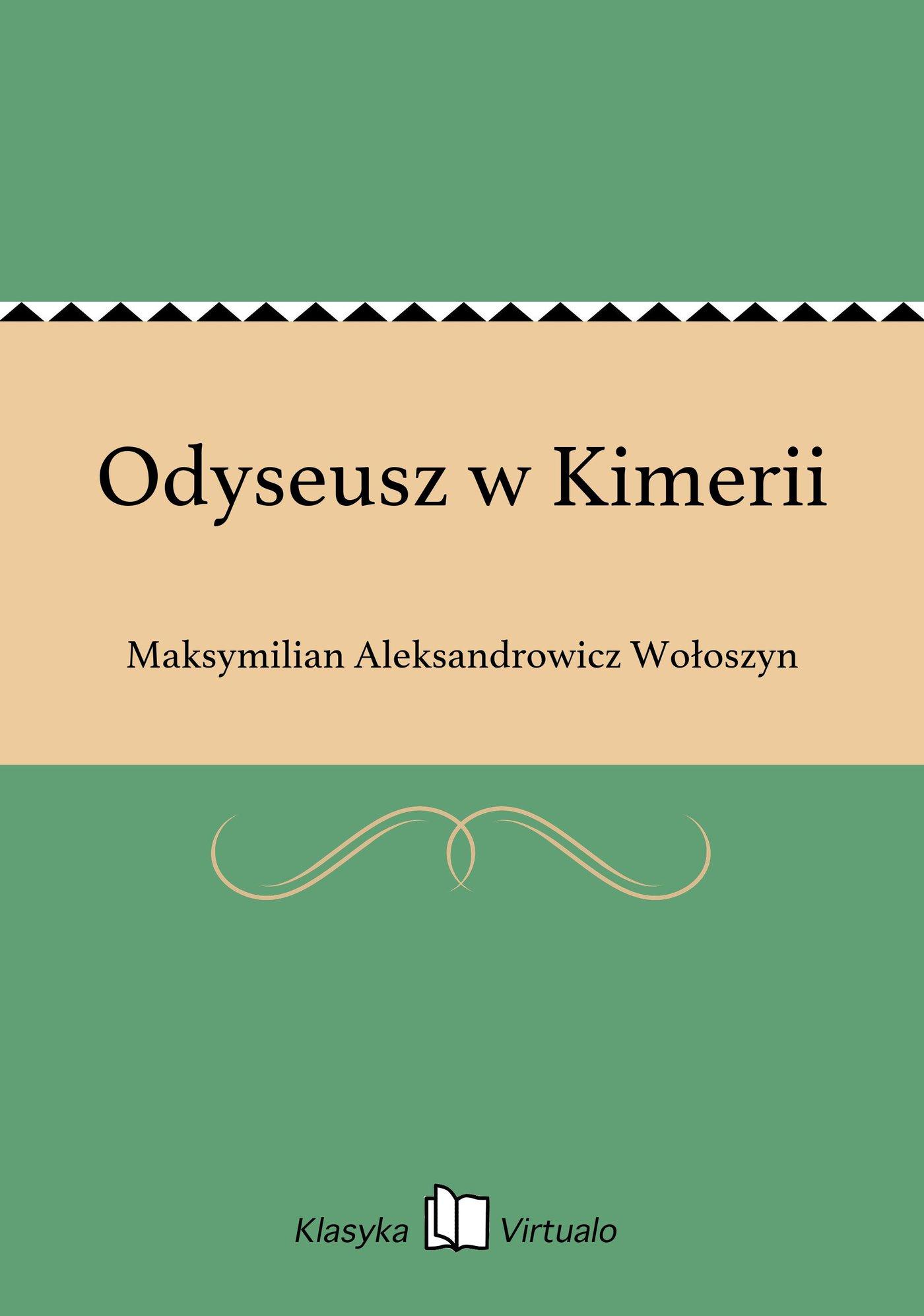 Odyseusz w Kimerii - Ebook (Książka EPUB) do pobrania w formacie EPUB