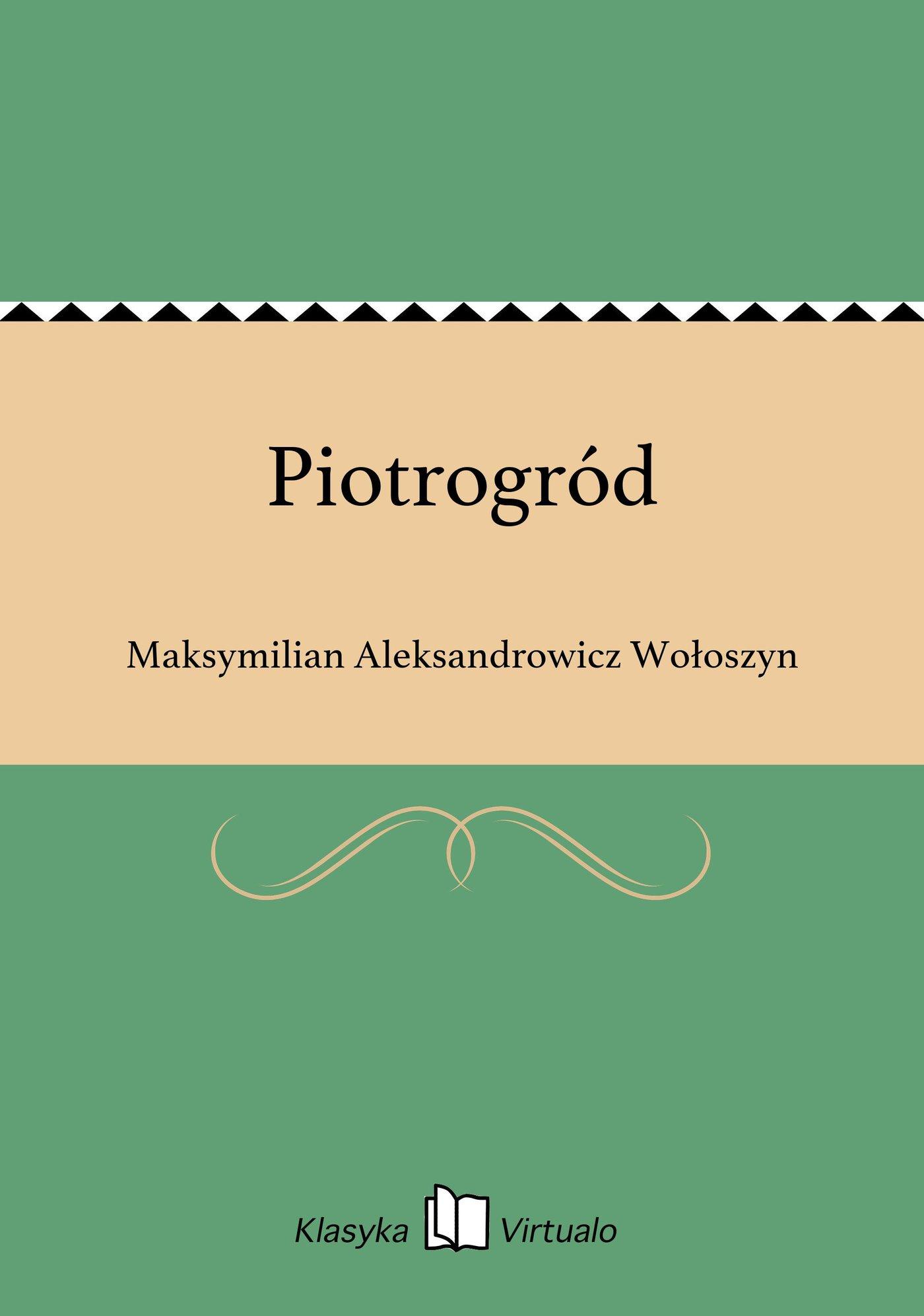 Piotrogród - Ebook (Książka EPUB) do pobrania w formacie EPUB