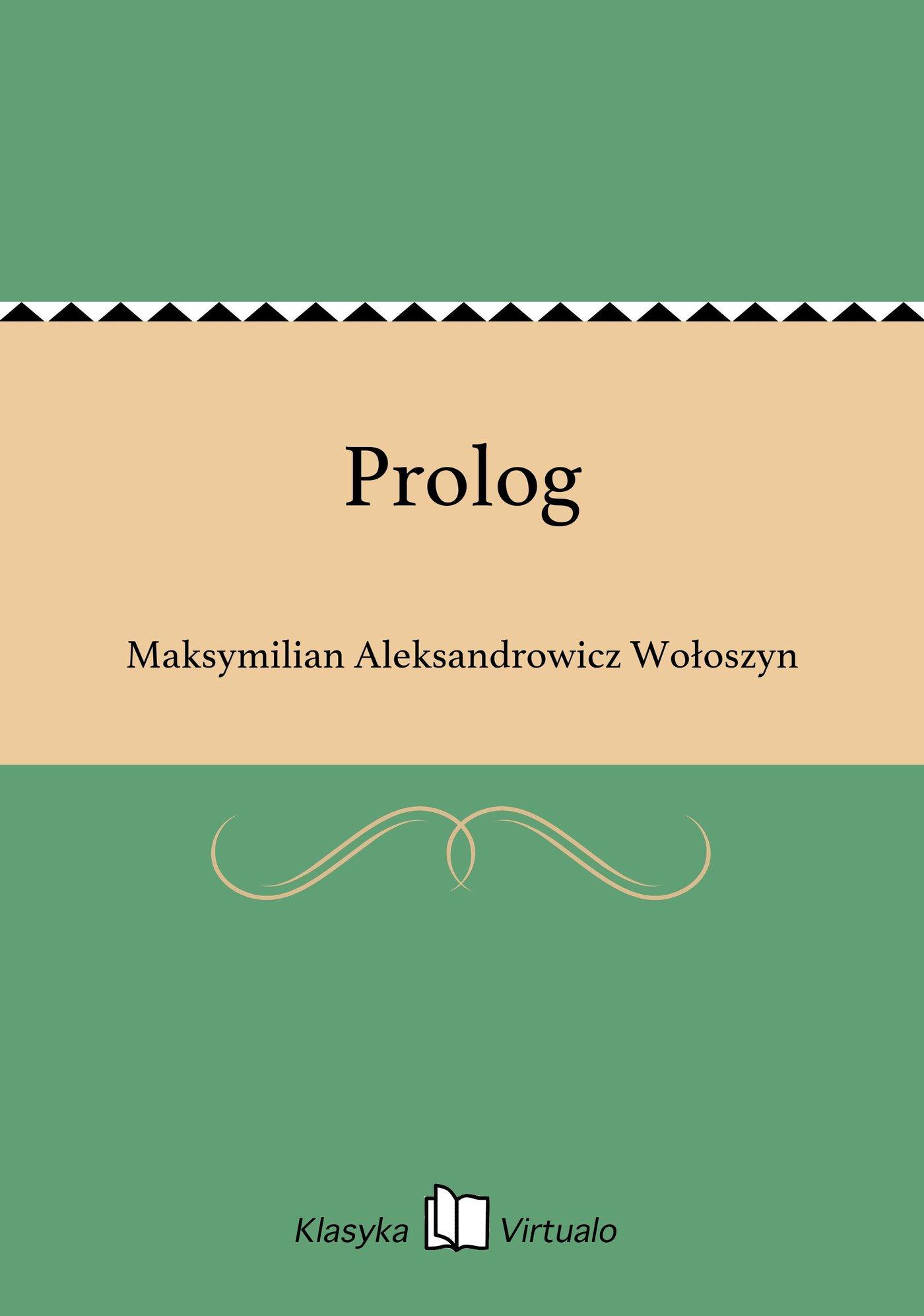 Prolog - Ebook (Książka EPUB) do pobrania w formacie EPUB