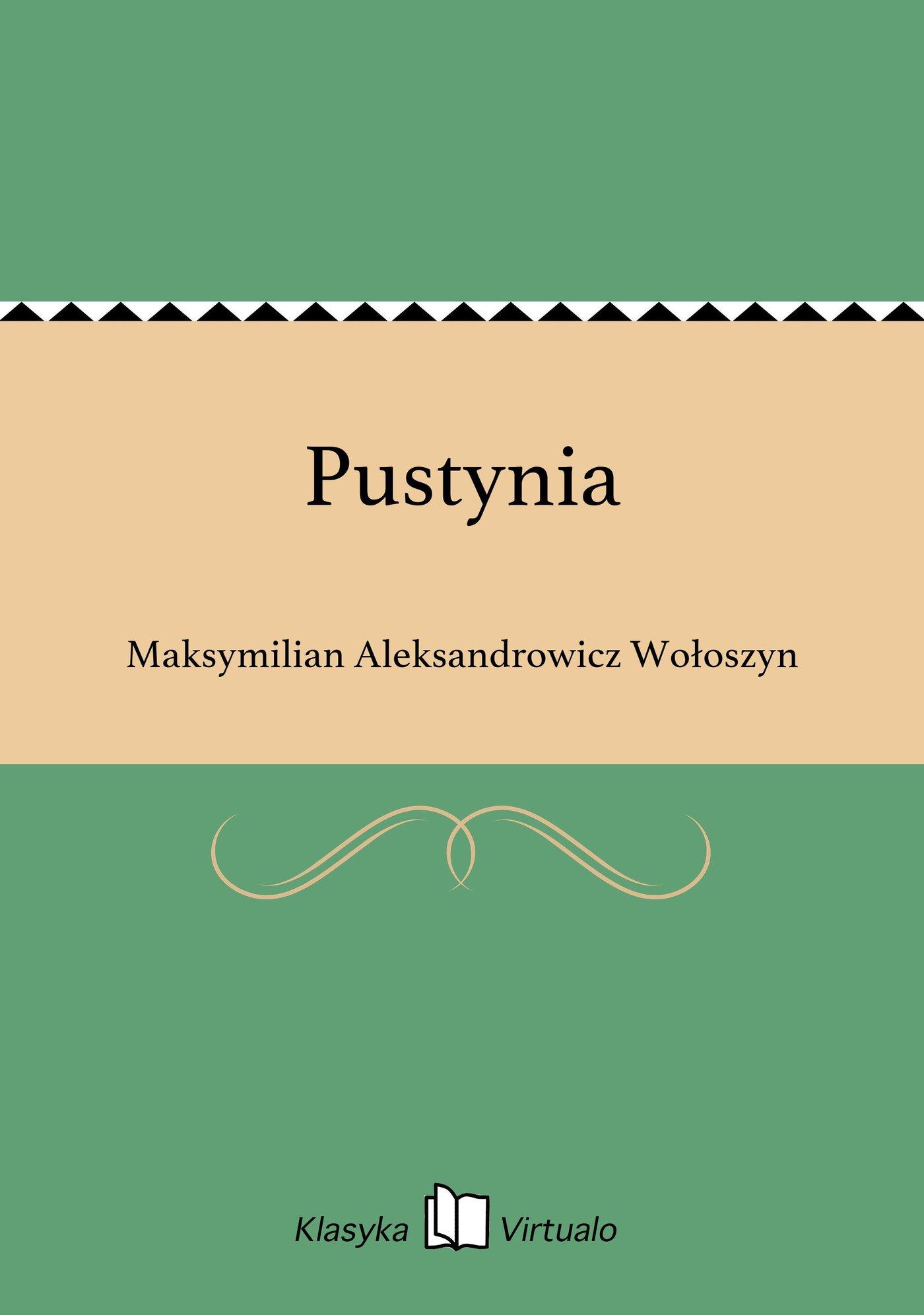 Pustynia - Ebook (Książka EPUB) do pobrania w formacie EPUB