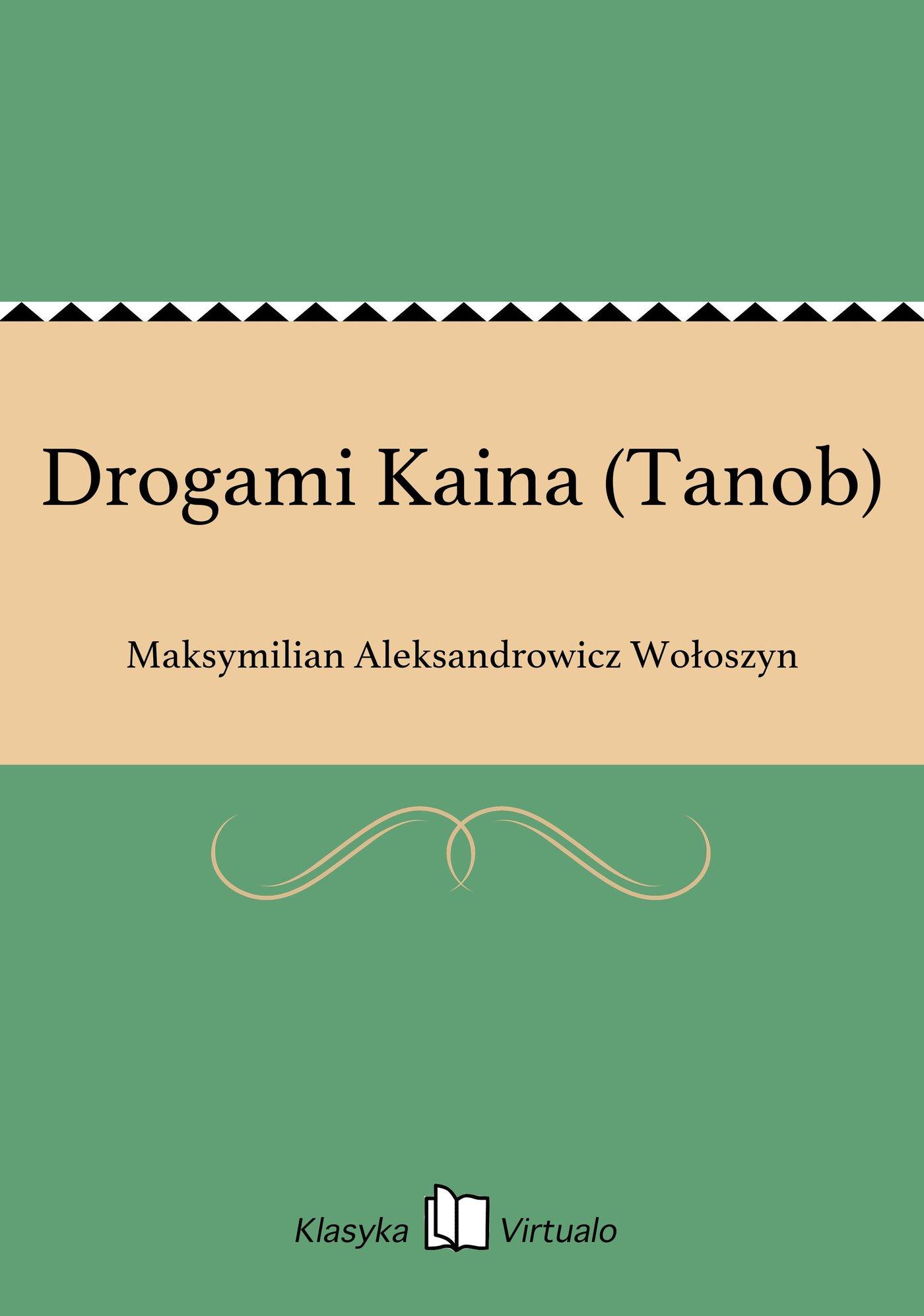 Drogami Kaina (Tanob) - Ebook (Książka EPUB) do pobrania w formacie EPUB
