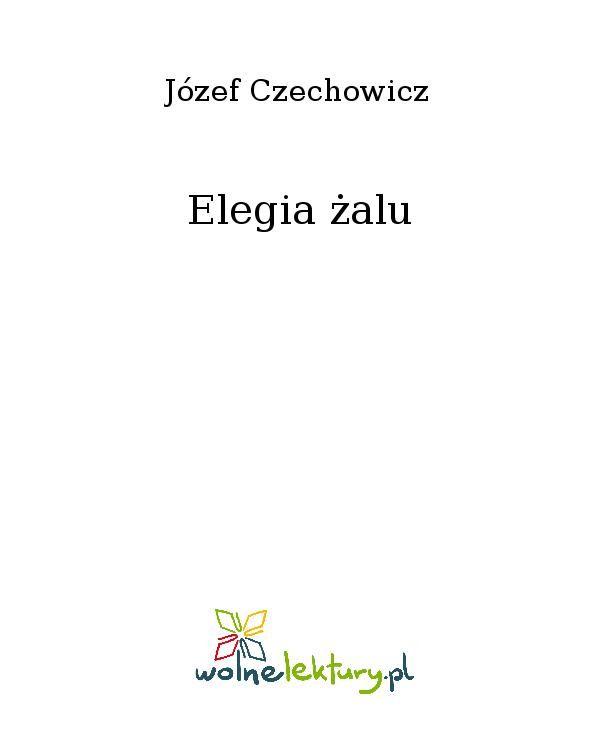 Elegia żalu - Ebook (Książka EPUB) do pobrania w formacie EPUB