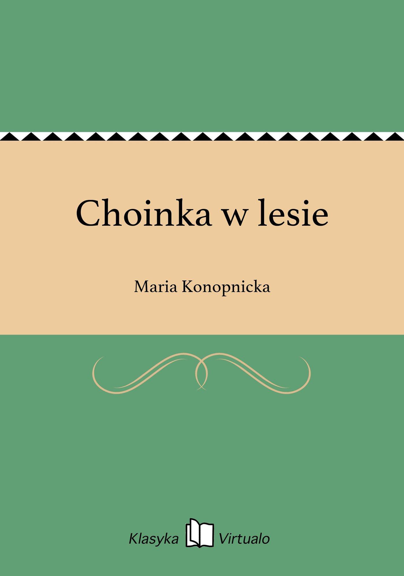 Choinka w lesie - Ebook (Książka EPUB) do pobrania w formacie EPUB