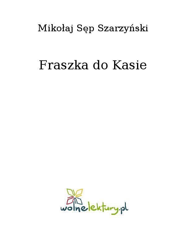 Fraszka do Kasie - Ebook (Książka EPUB) do pobrania w formacie EPUB