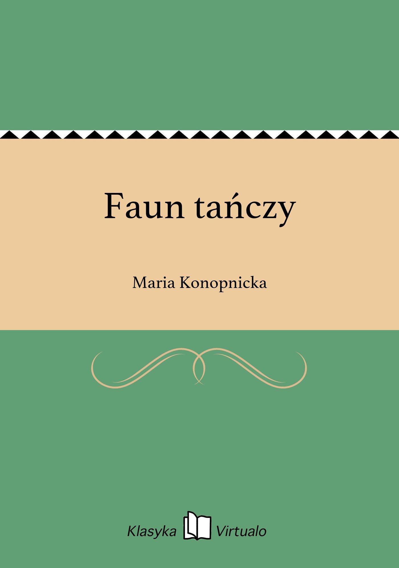 Faun tańczy - Ebook (Książka EPUB) do pobrania w formacie EPUB