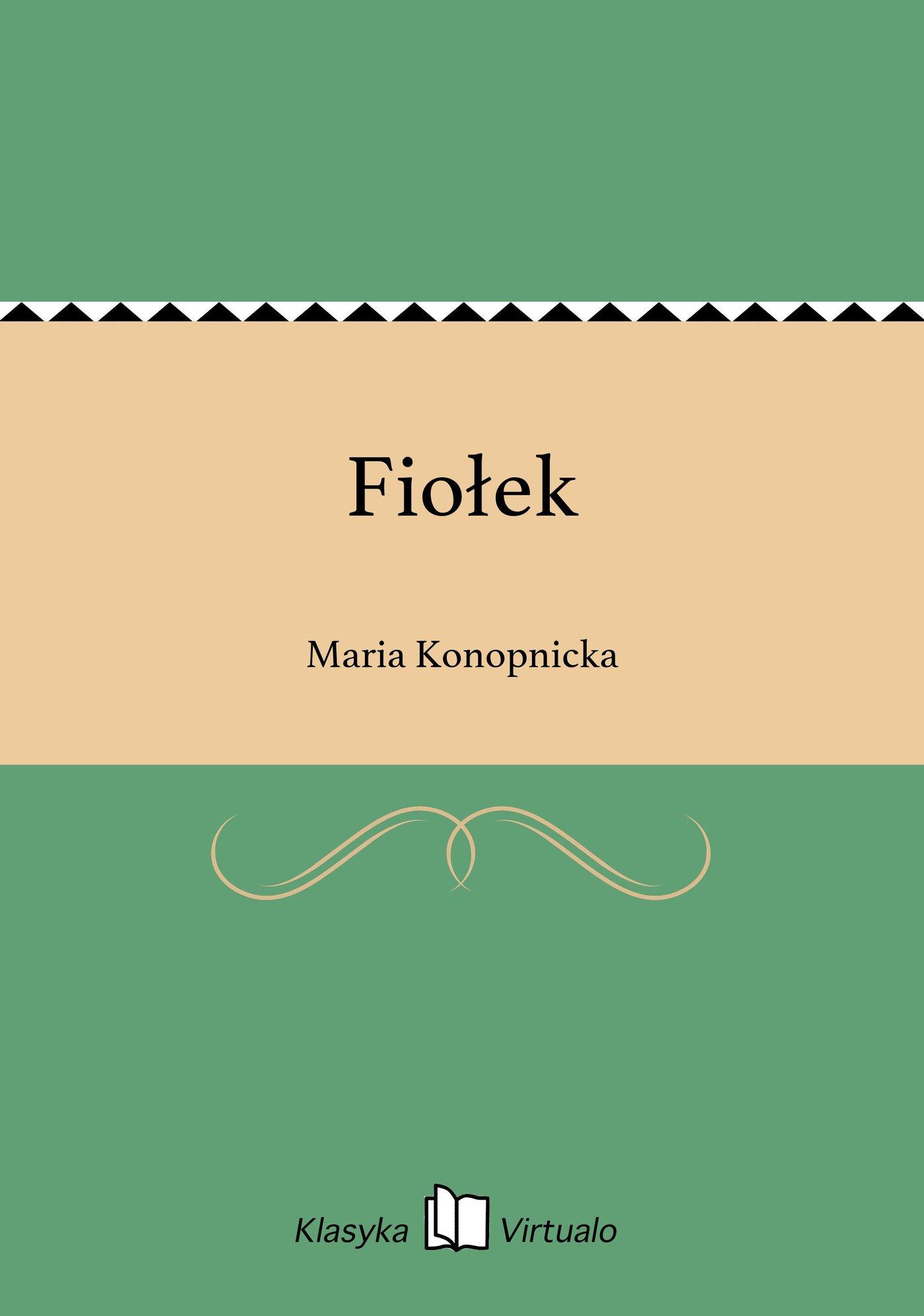 Fiołek - Ebook (Książka EPUB) do pobrania w formacie EPUB