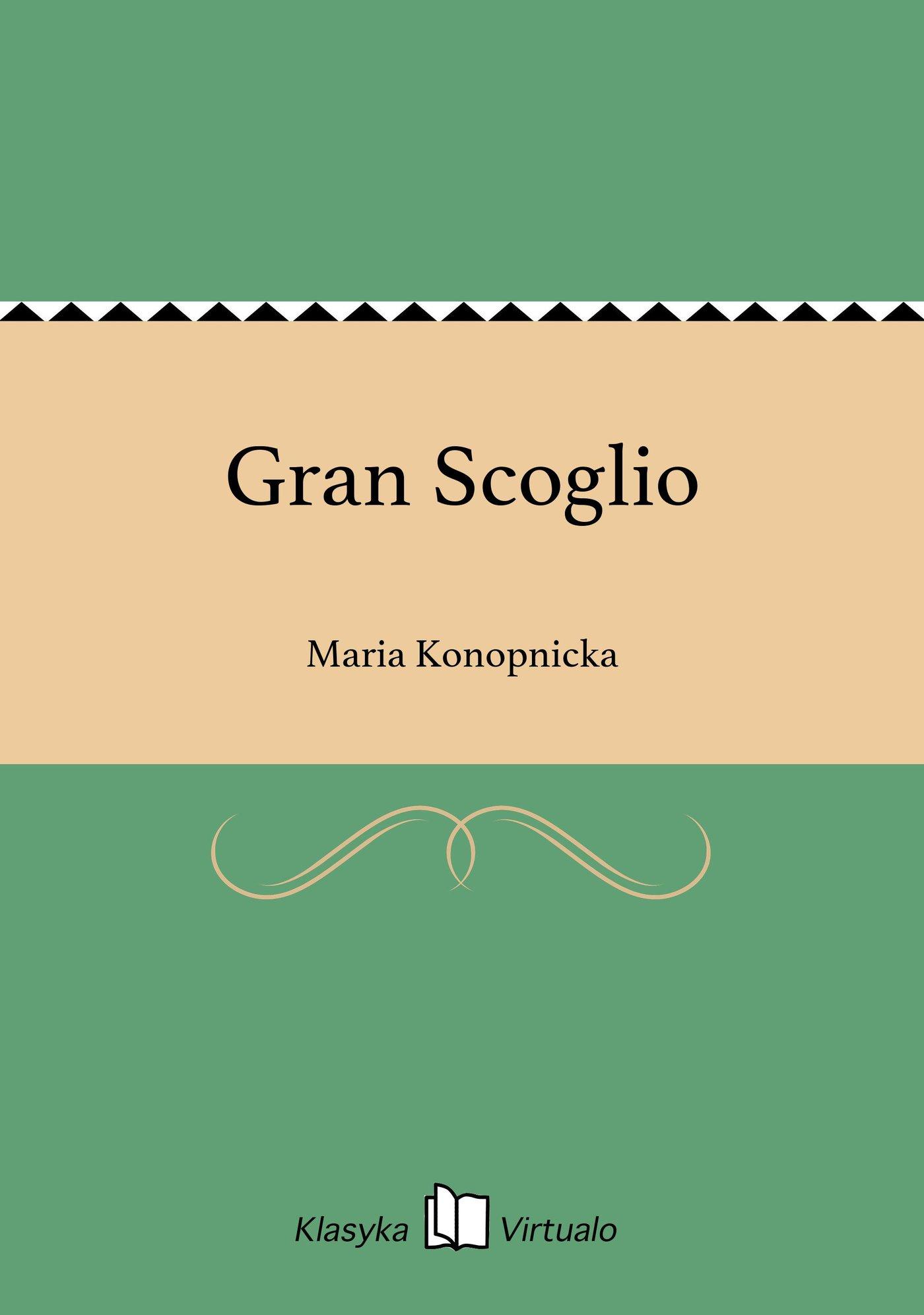 Gran Scoglio - Ebook (Książka EPUB) do pobrania w formacie EPUB