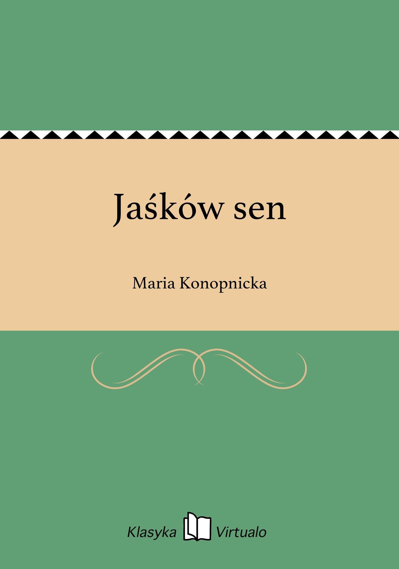 Jaśków sen - Ebook (Książka EPUB) do pobrania w formacie EPUB