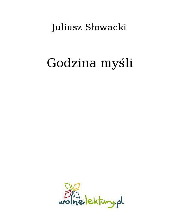 Godzina myśli - Ebook (Książka EPUB) do pobrania w formacie EPUB
