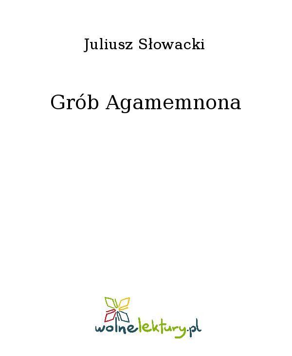 Grób Agamemnona - Ebook (Książka EPUB) do pobrania w formacie EPUB