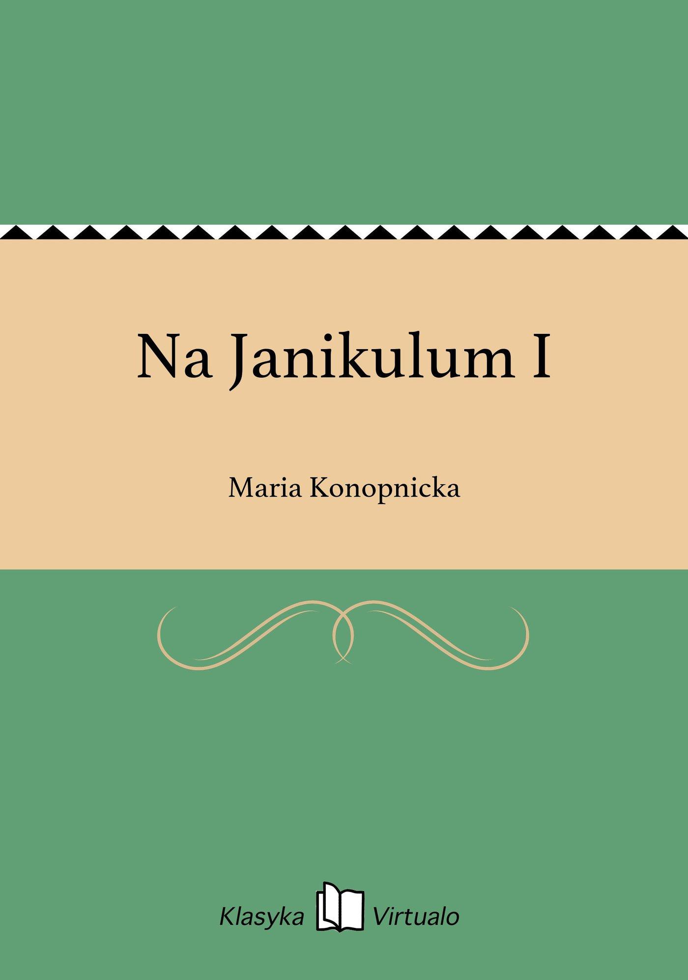 Na Janikulum I - Ebook (Książka EPUB) do pobrania w formacie EPUB