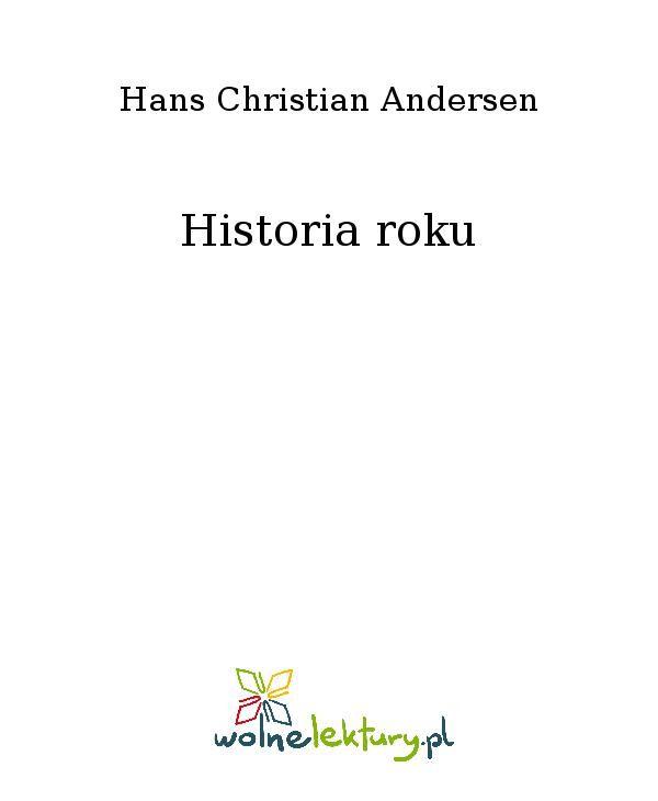 Historia roku - Ebook (Książka EPUB) do pobrania w formacie EPUB