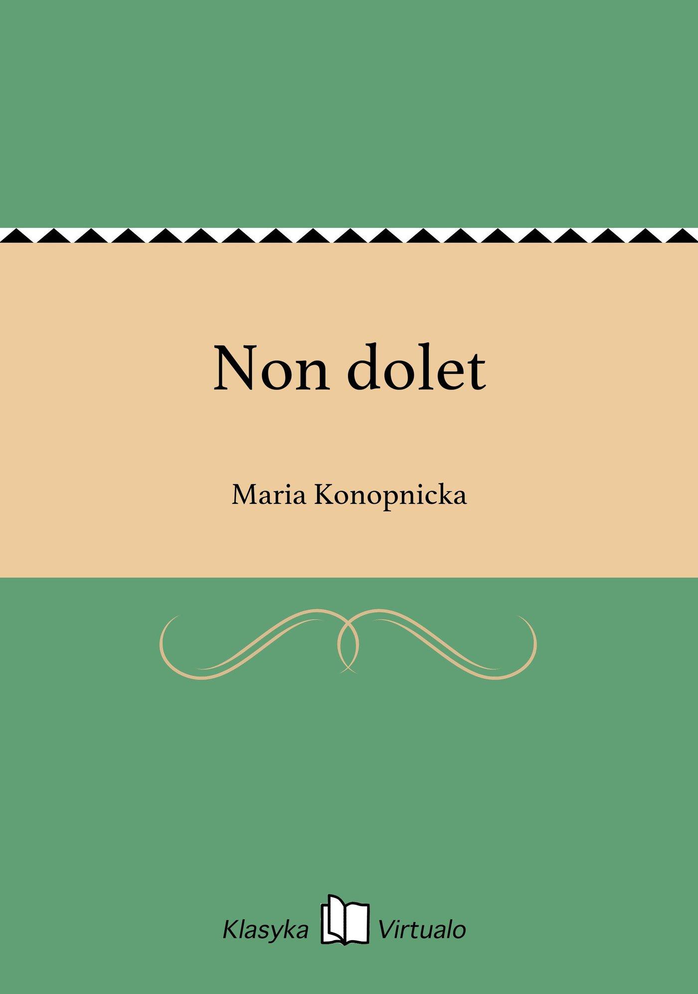 Non dolet - Ebook (Książka EPUB) do pobrania w formacie EPUB