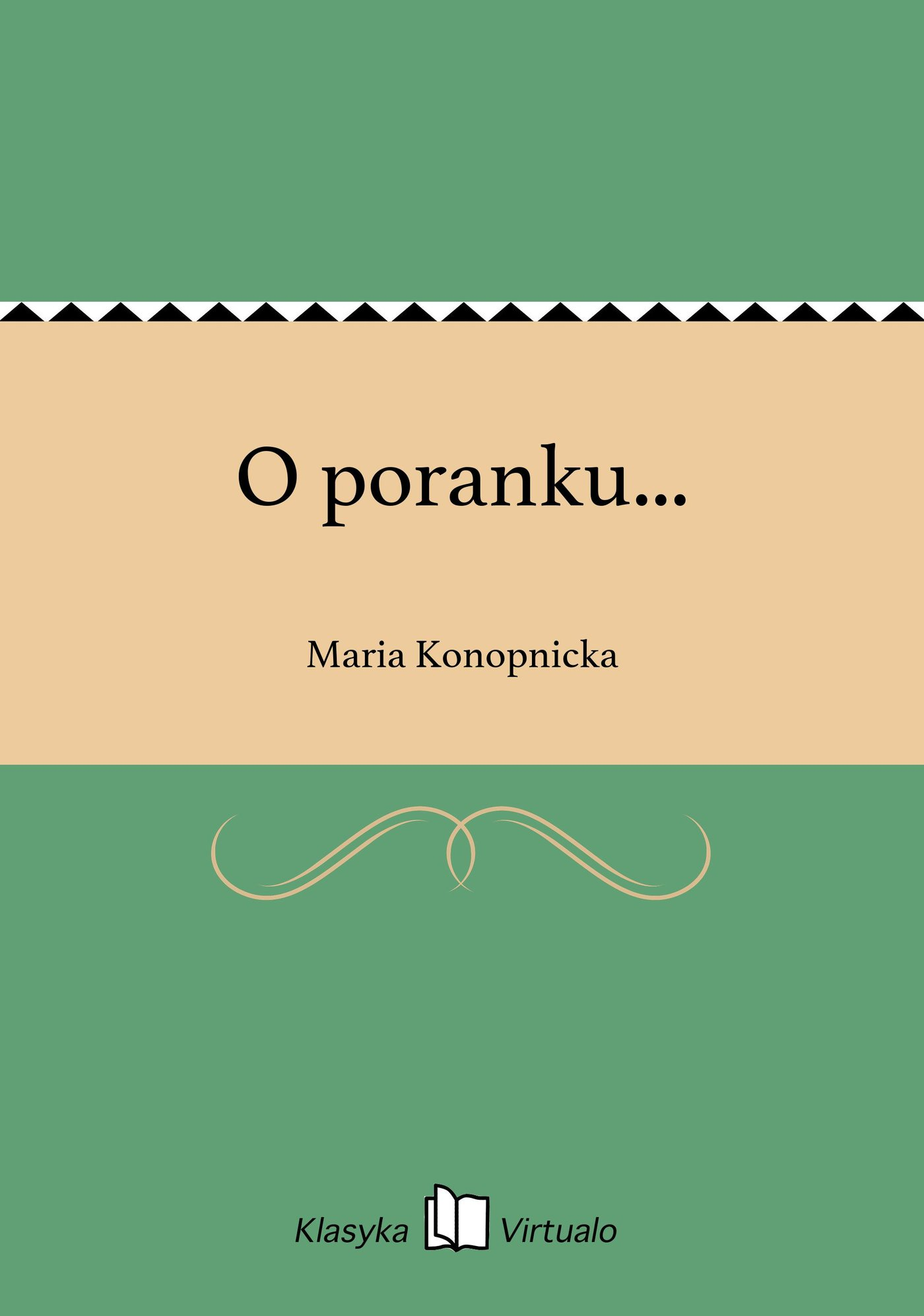 O poranku... - Ebook (Książka EPUB) do pobrania w formacie EPUB