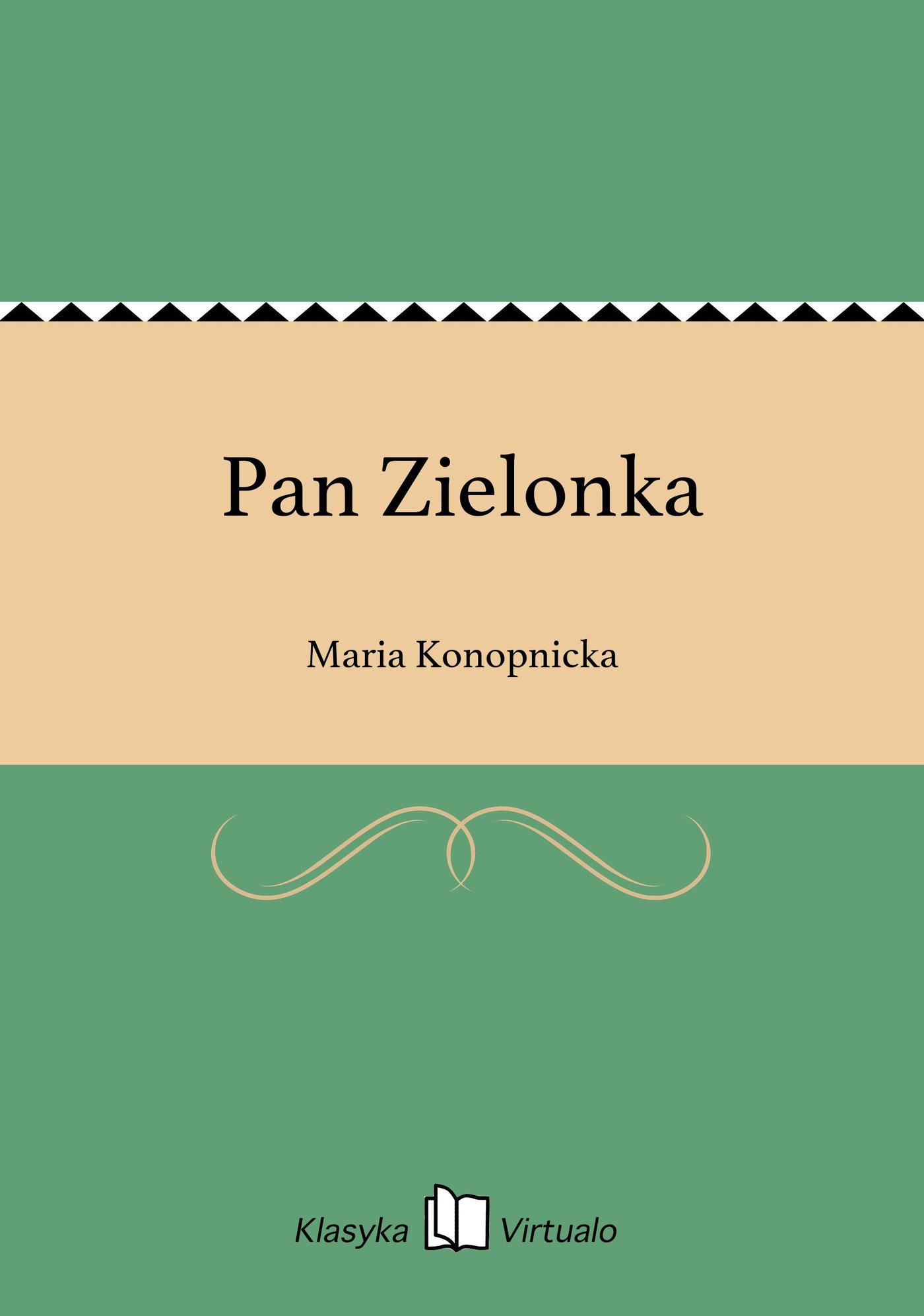 Pan Zielonka - Ebook (Książka EPUB) do pobrania w formacie EPUB