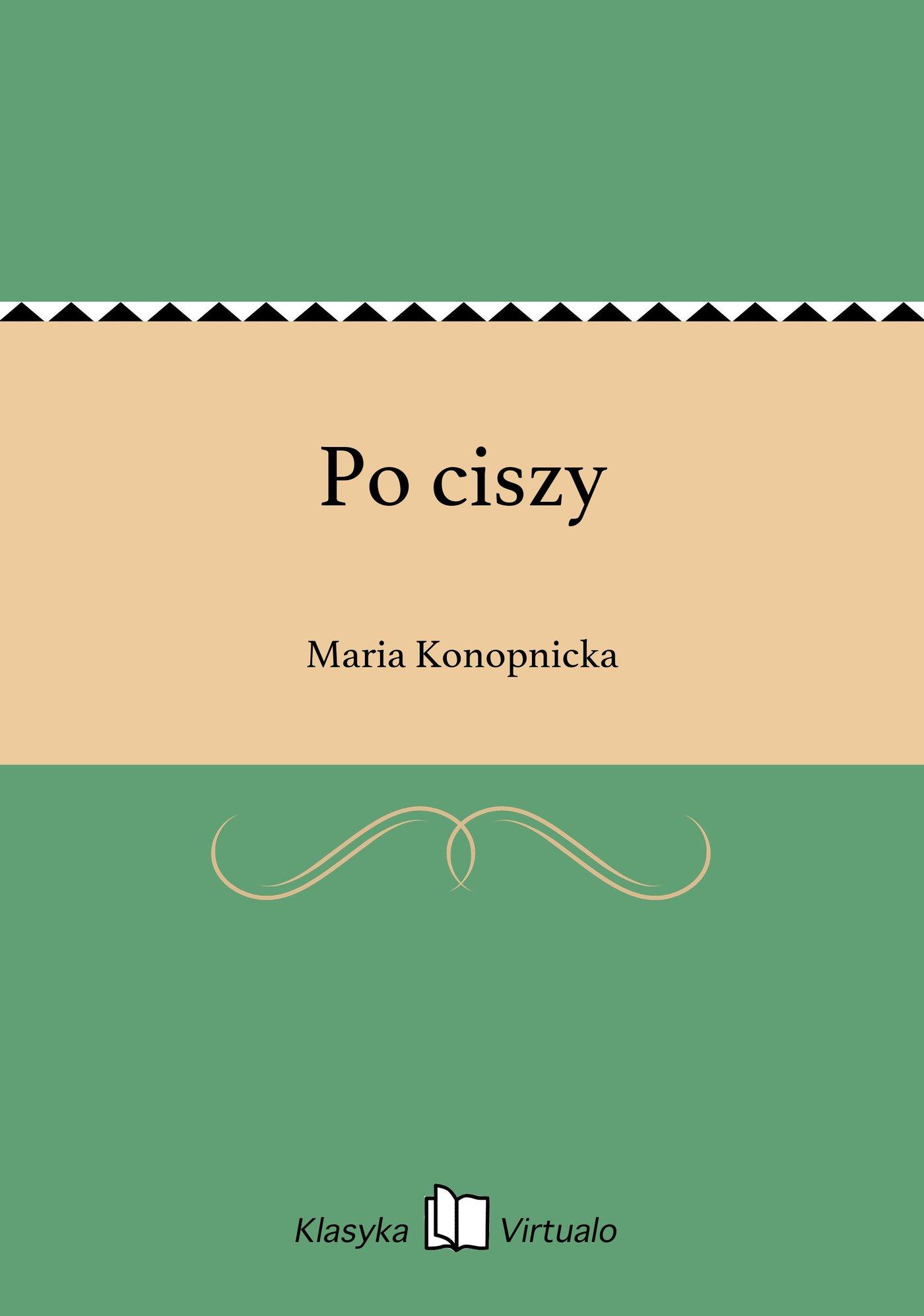Po ciszy - Ebook (Książka EPUB) do pobrania w formacie EPUB