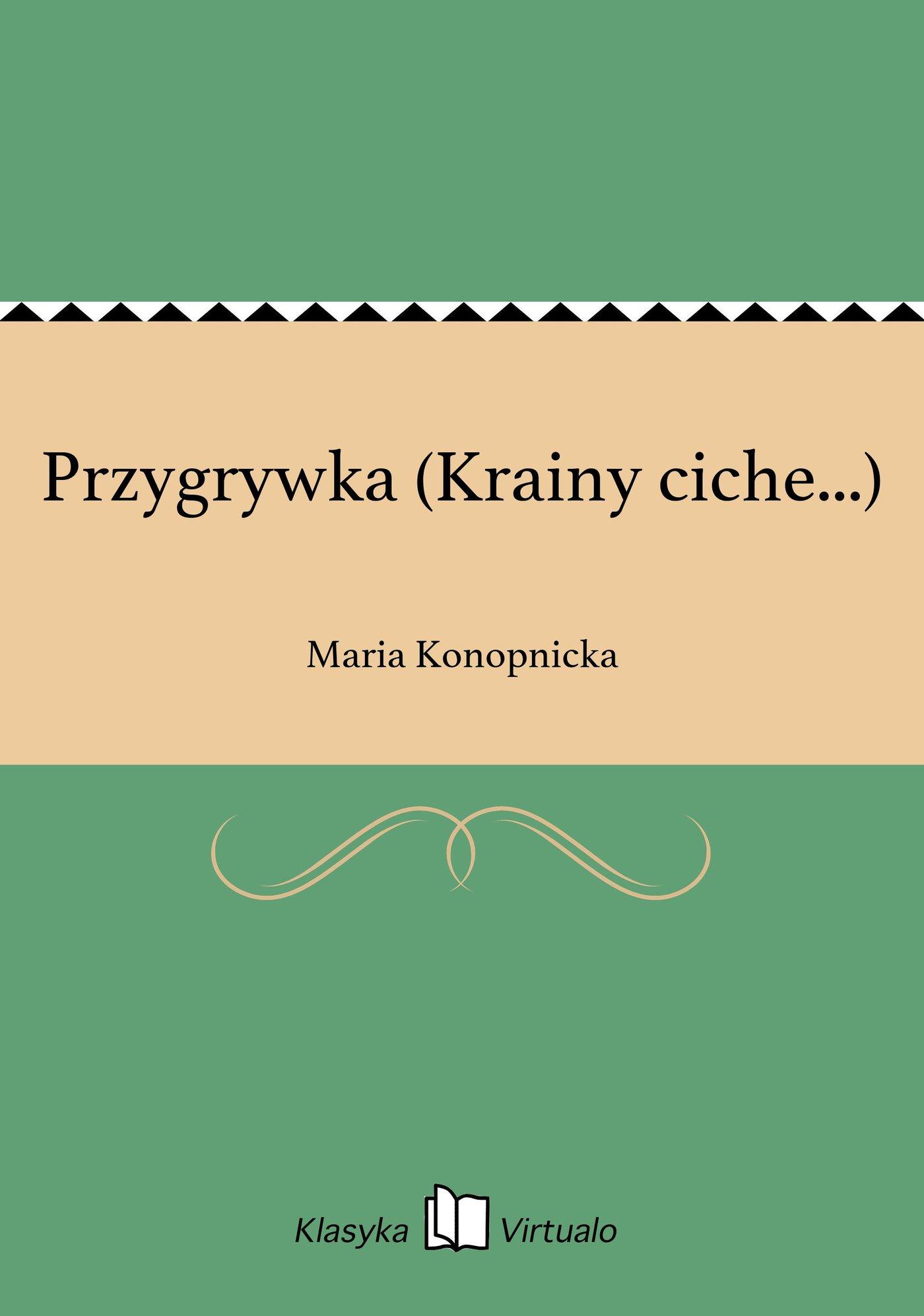 Przygrywka (Krainy ciche...) - Ebook (Książka EPUB) do pobrania w formacie EPUB