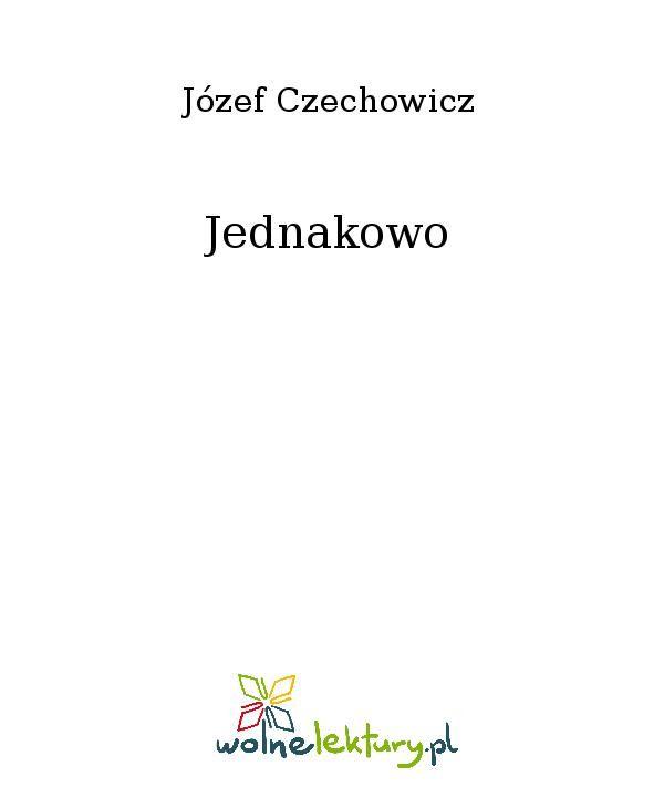Jednakowo - Ebook (Książka EPUB) do pobrania w formacie EPUB