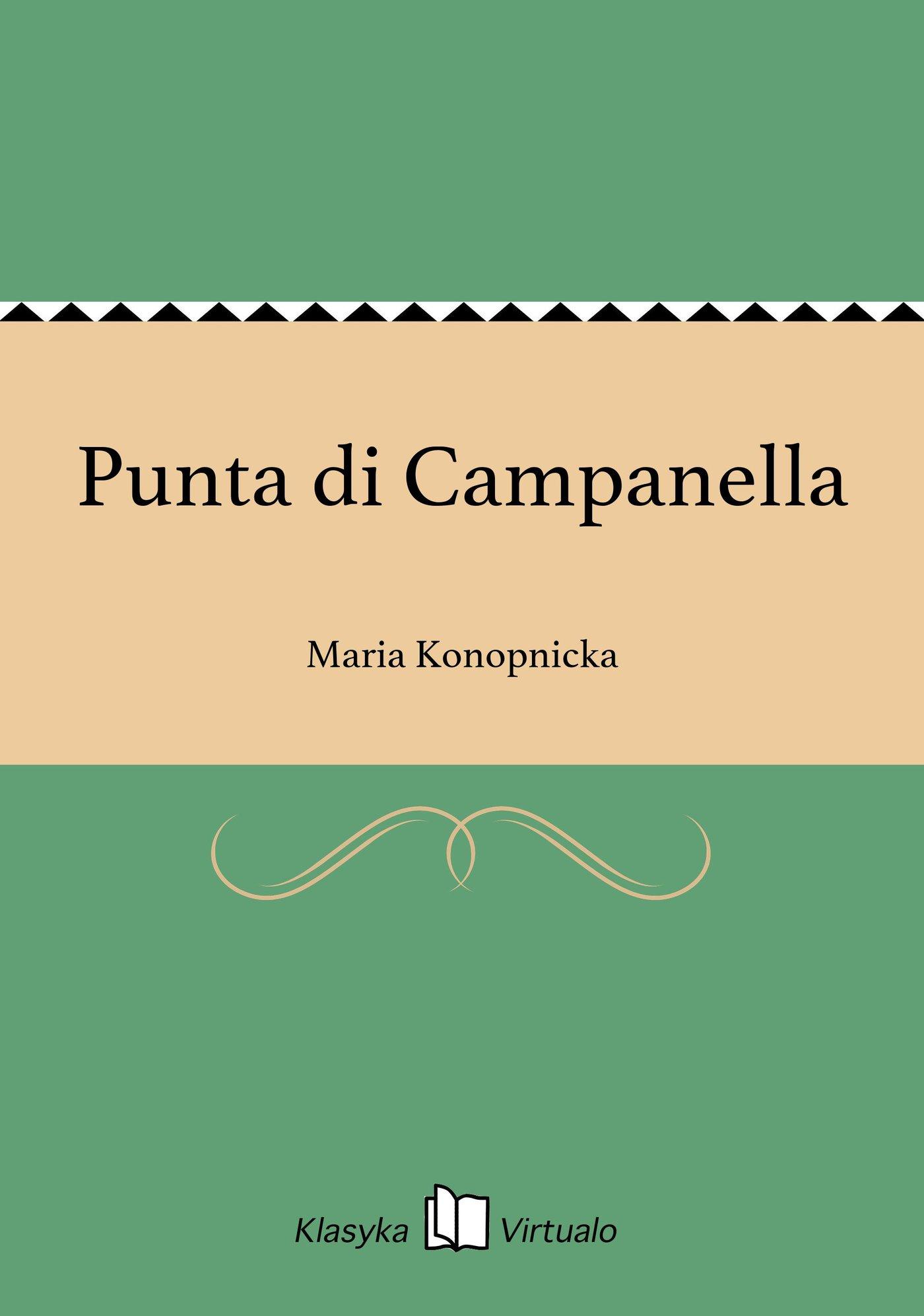 Punta di Campanella - Ebook (Książka EPUB) do pobrania w formacie EPUB