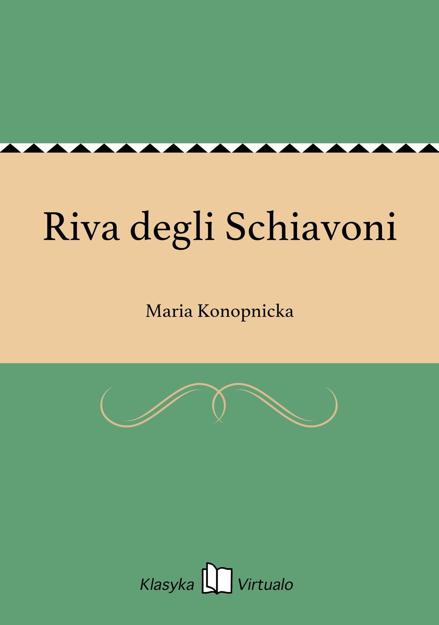 Riva degli Schiavoni - Ebook (Książka EPUB) do pobrania w formacie EPUB